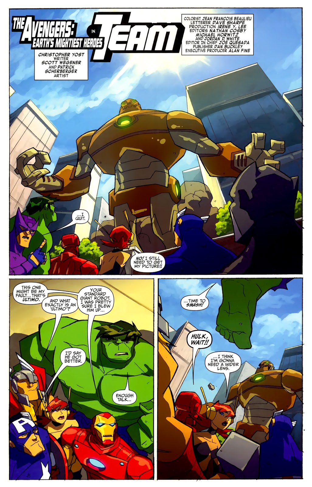 Avengers: Earth's Mightiest Heroes (2011) Issue #4 #4 - English 6