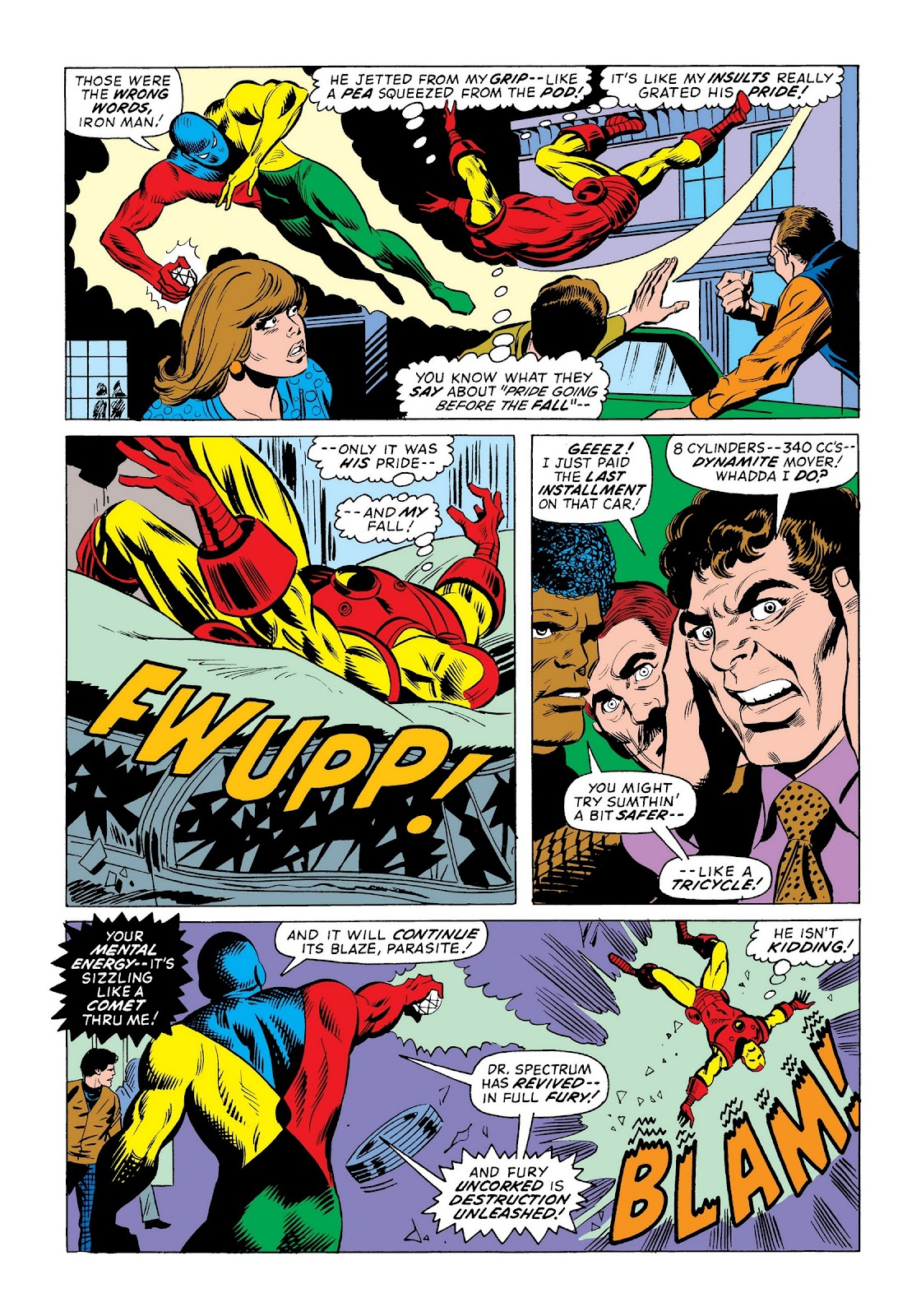 Read online Marvel Masterworks: The Invincible Iron Man comic -  Issue # TPB 9 (Part 3) - 9