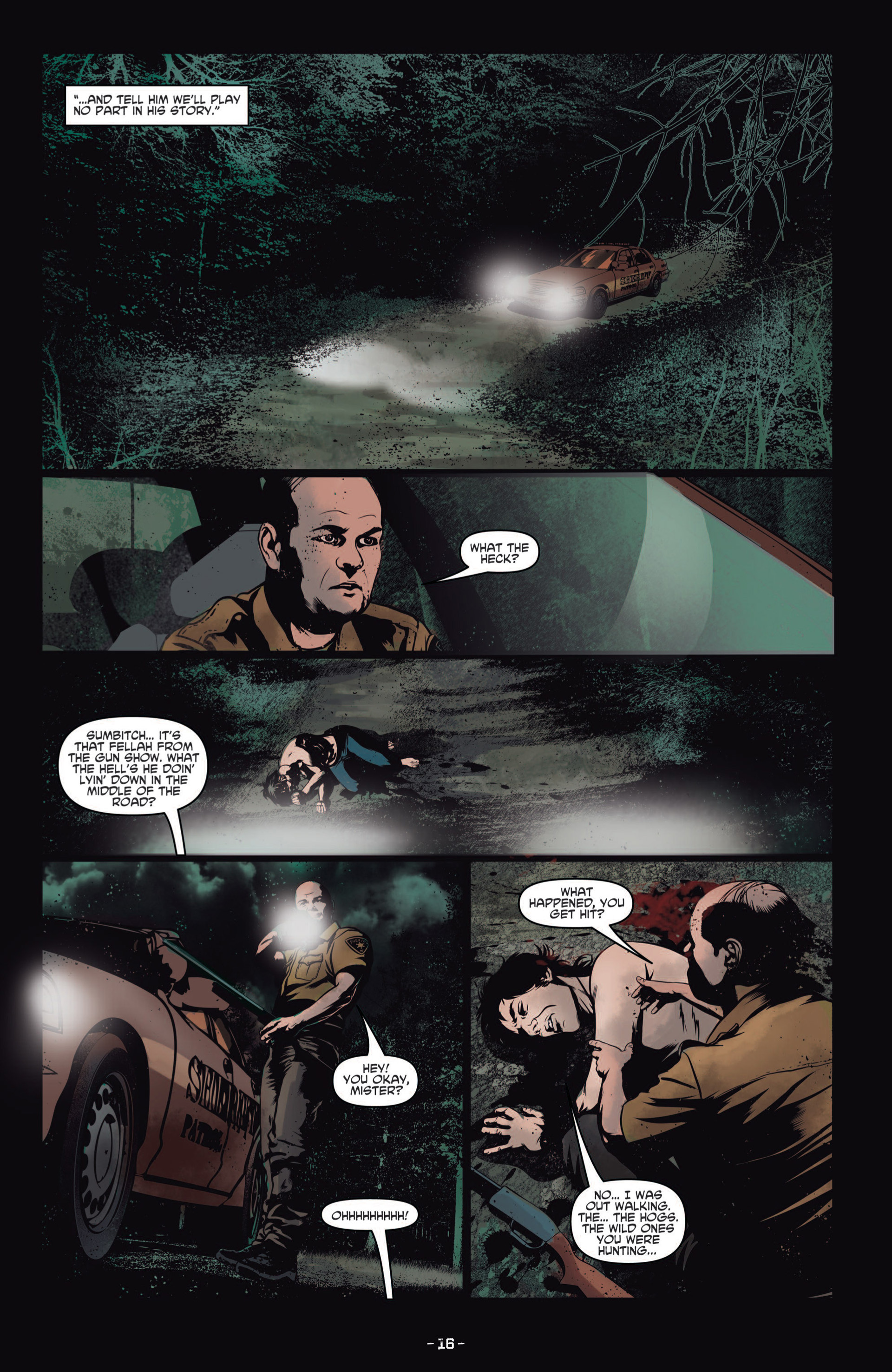 Read online True Blood (2012) comic -  Issue #8 - 18