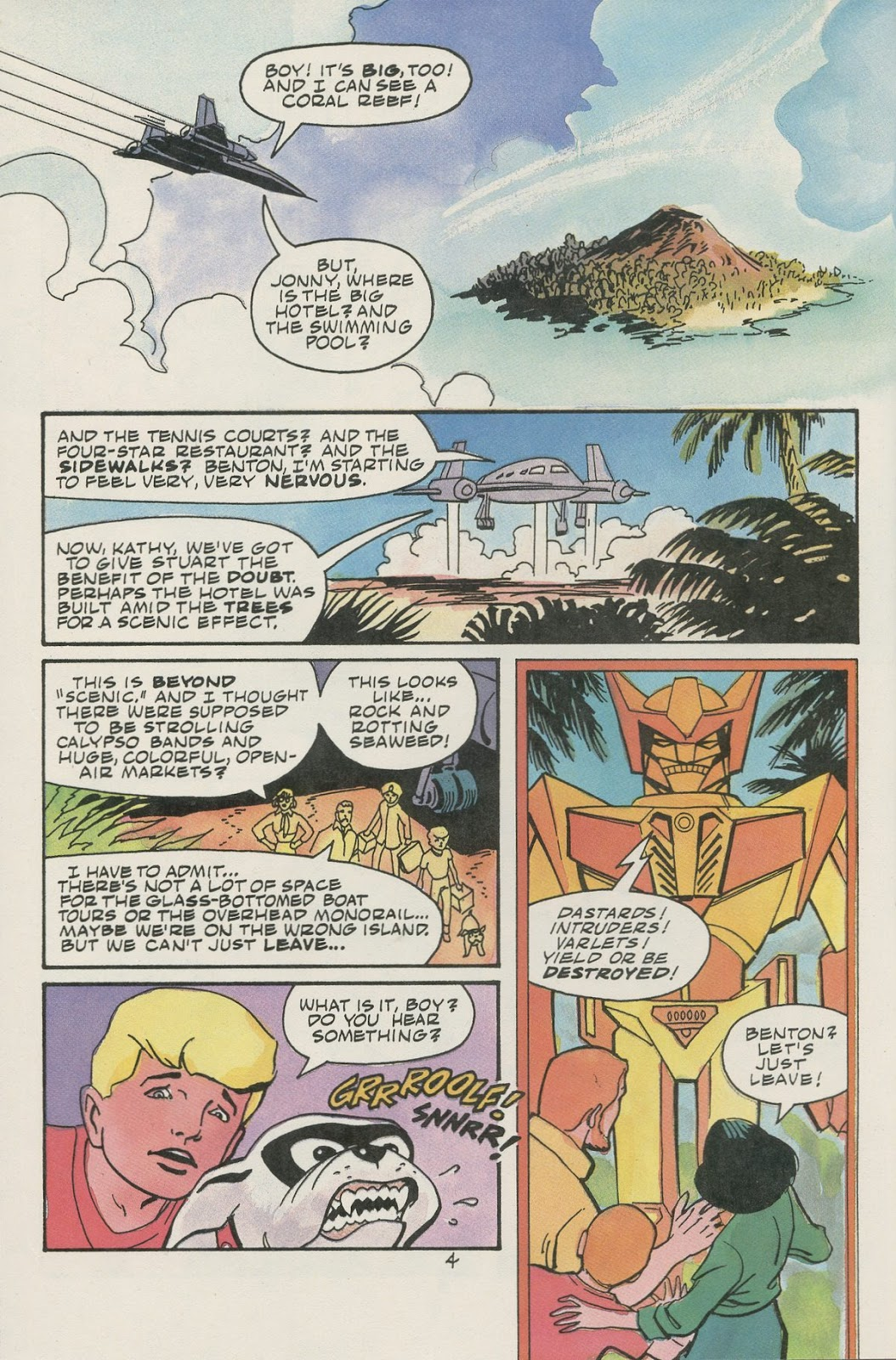 Jonny Quest (1986) issue 17 - Page 6