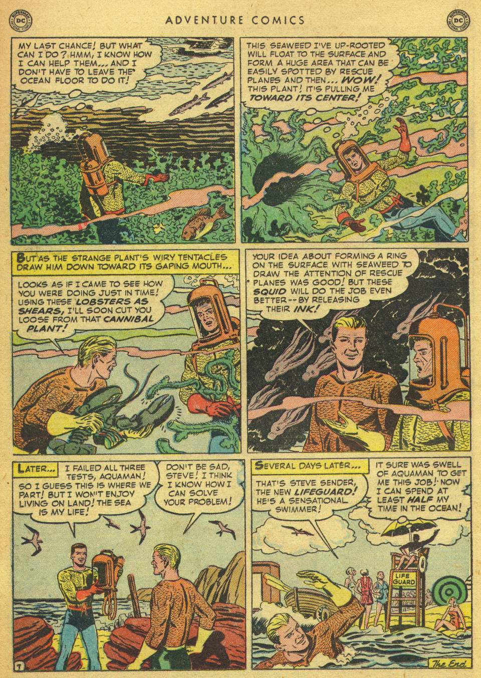 Read online Adventure Comics (1938) comic -  Issue #162 - 32