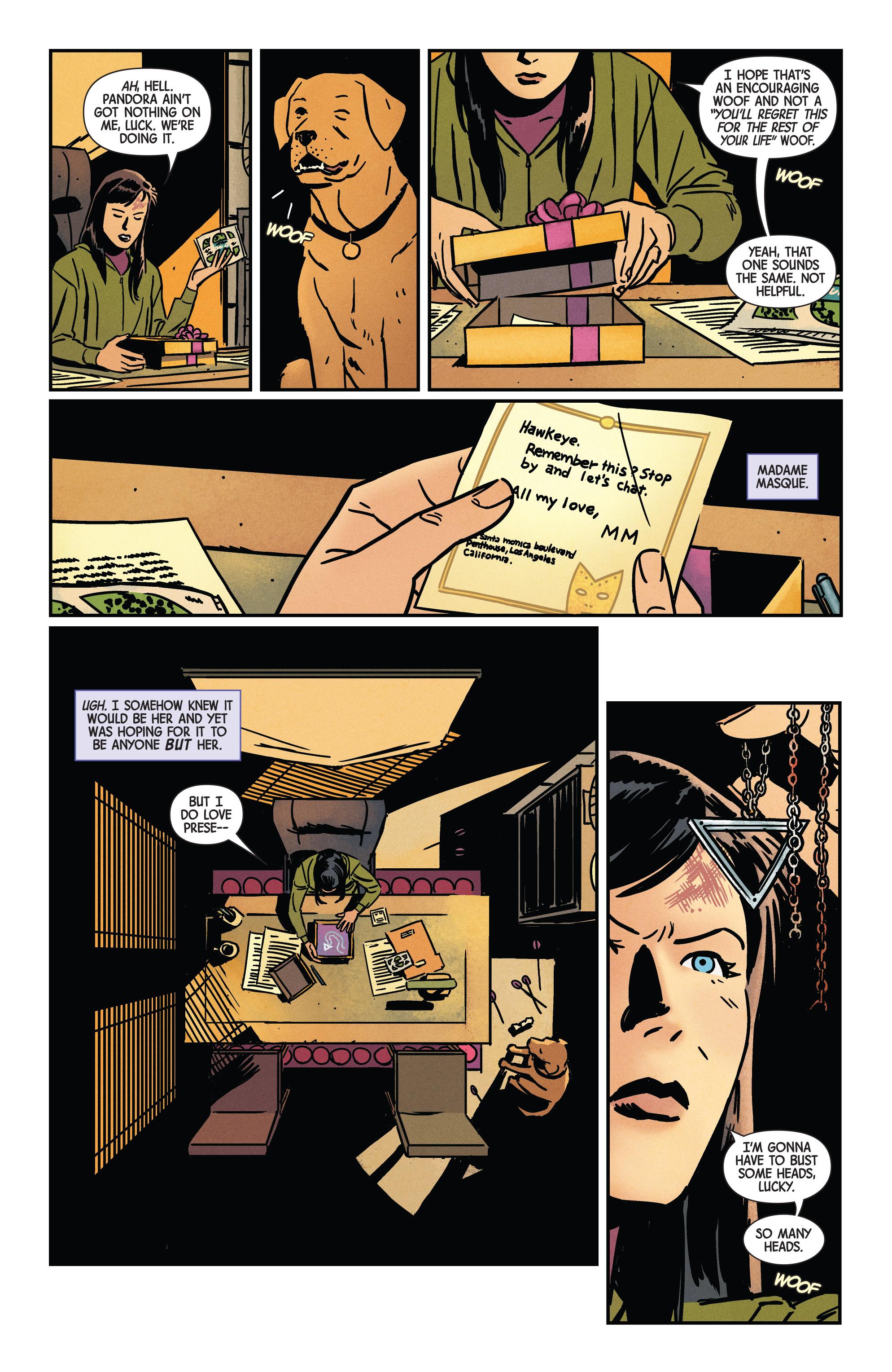 Read online Hawkeye (2016) comic -  Issue #7 - 4