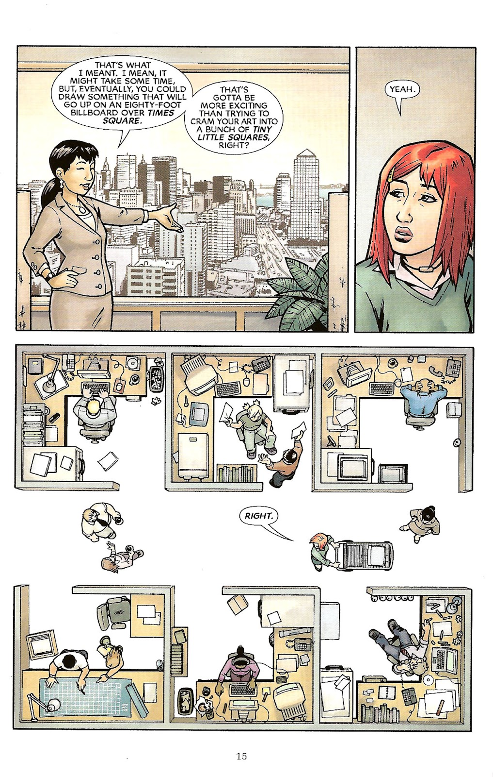 Read online The Escapists comic -  Issue #6 - 17