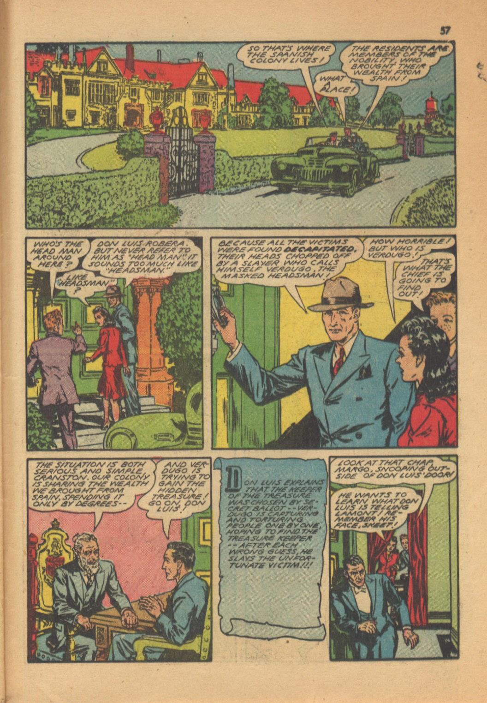Read online Super-Magician Comics comic -  Issue #13 - 57