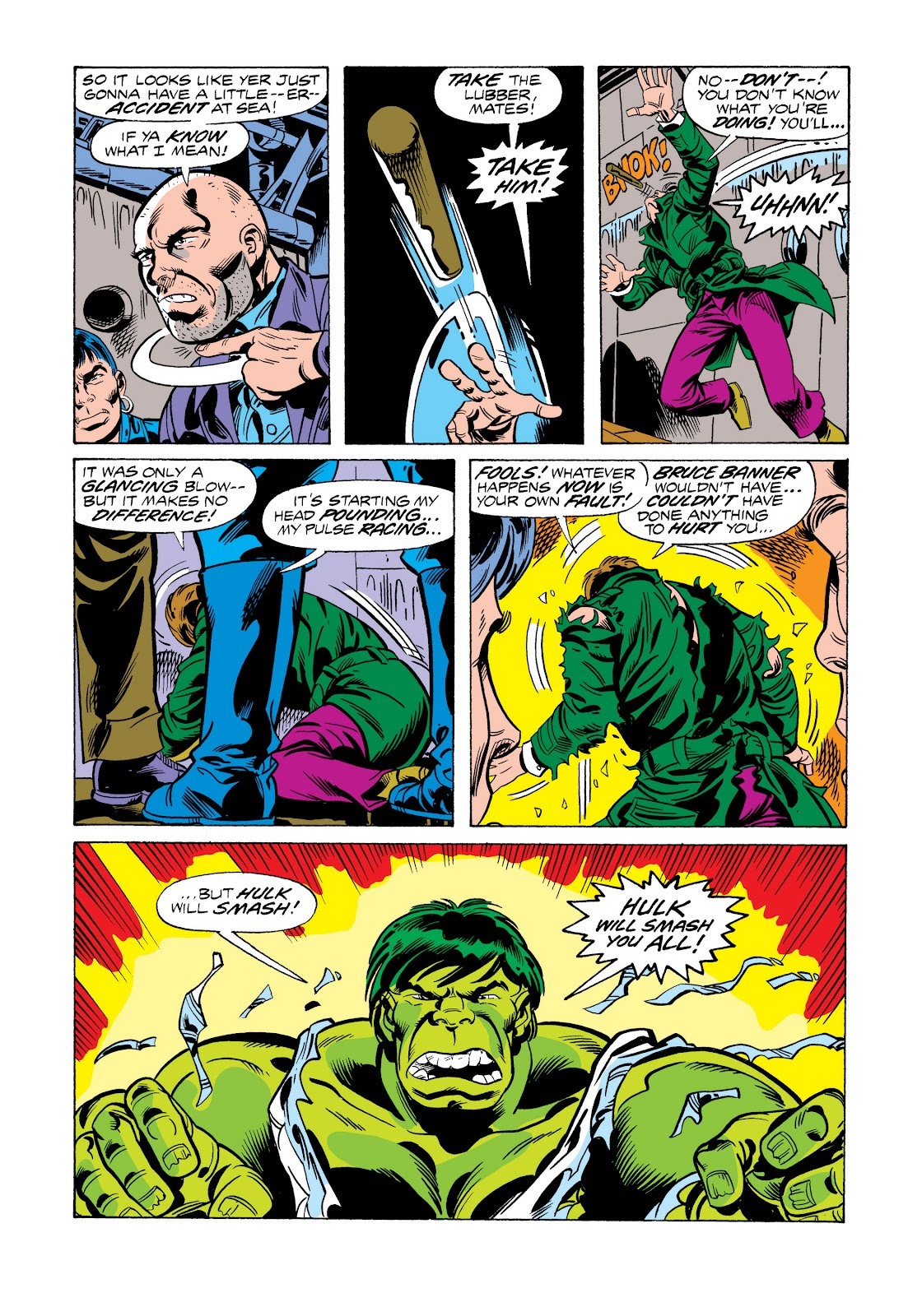 Read online Marvel Masterworks: The Incredible Hulk comic -  Issue # TPB 11 (Part 2) - 80