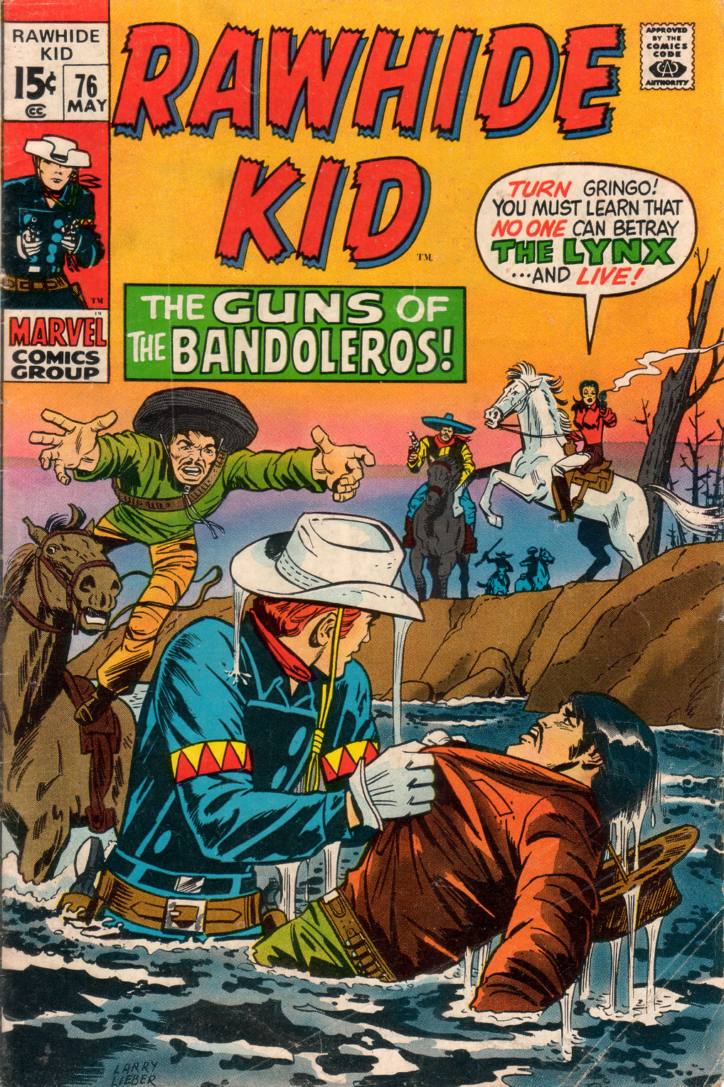 The Rawhide Kid (1955) issue 76 - Page 1