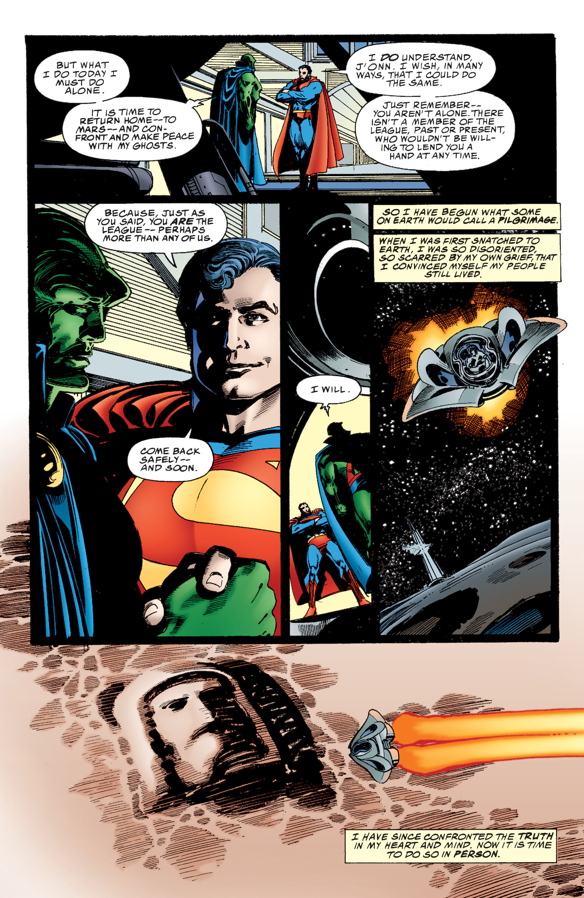 Read online Martian Manhunter: Son of Mars comic -  Issue # TPB - 29