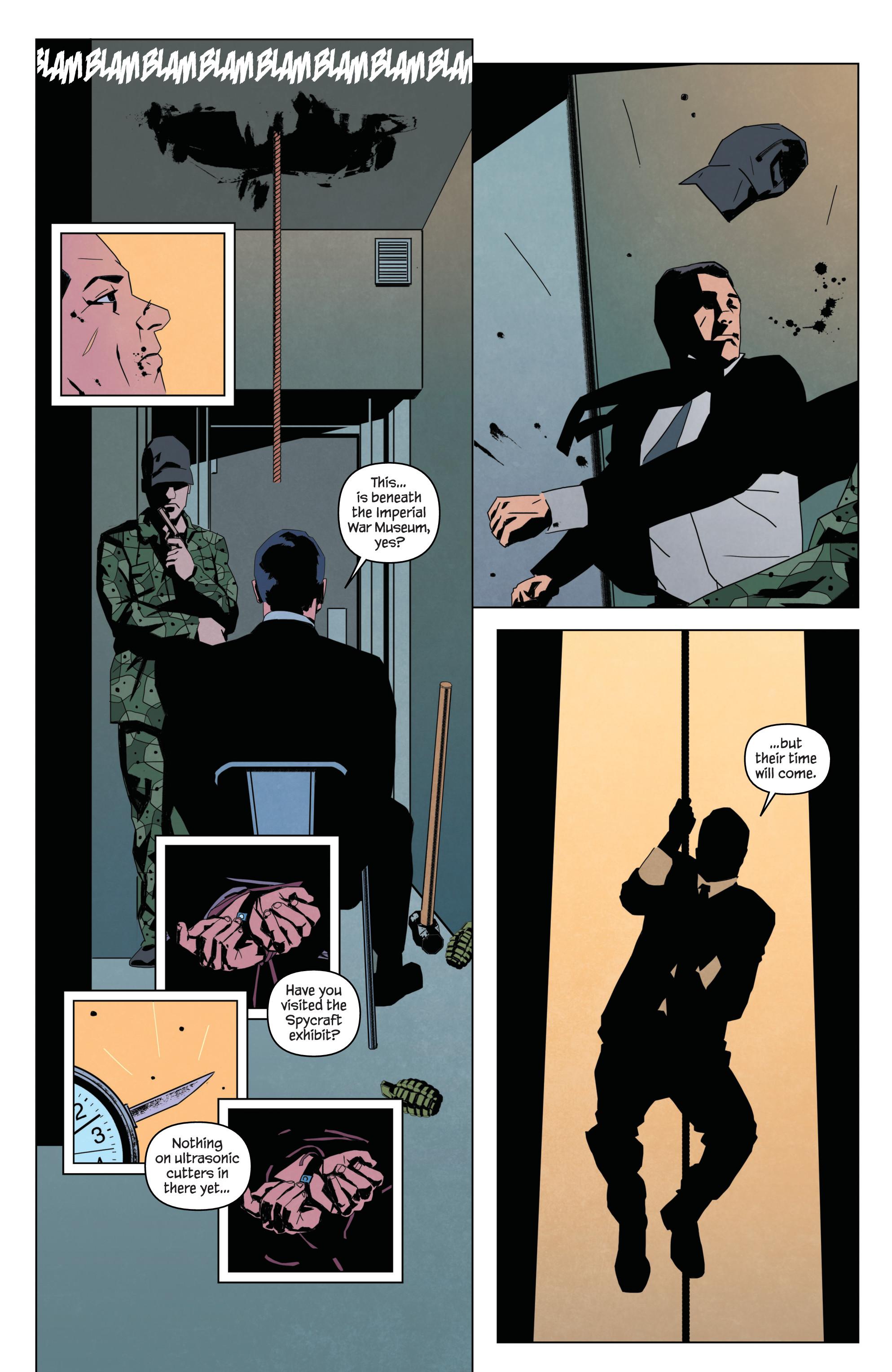 Read online James Bond: Service comic -  Issue # Full - 30