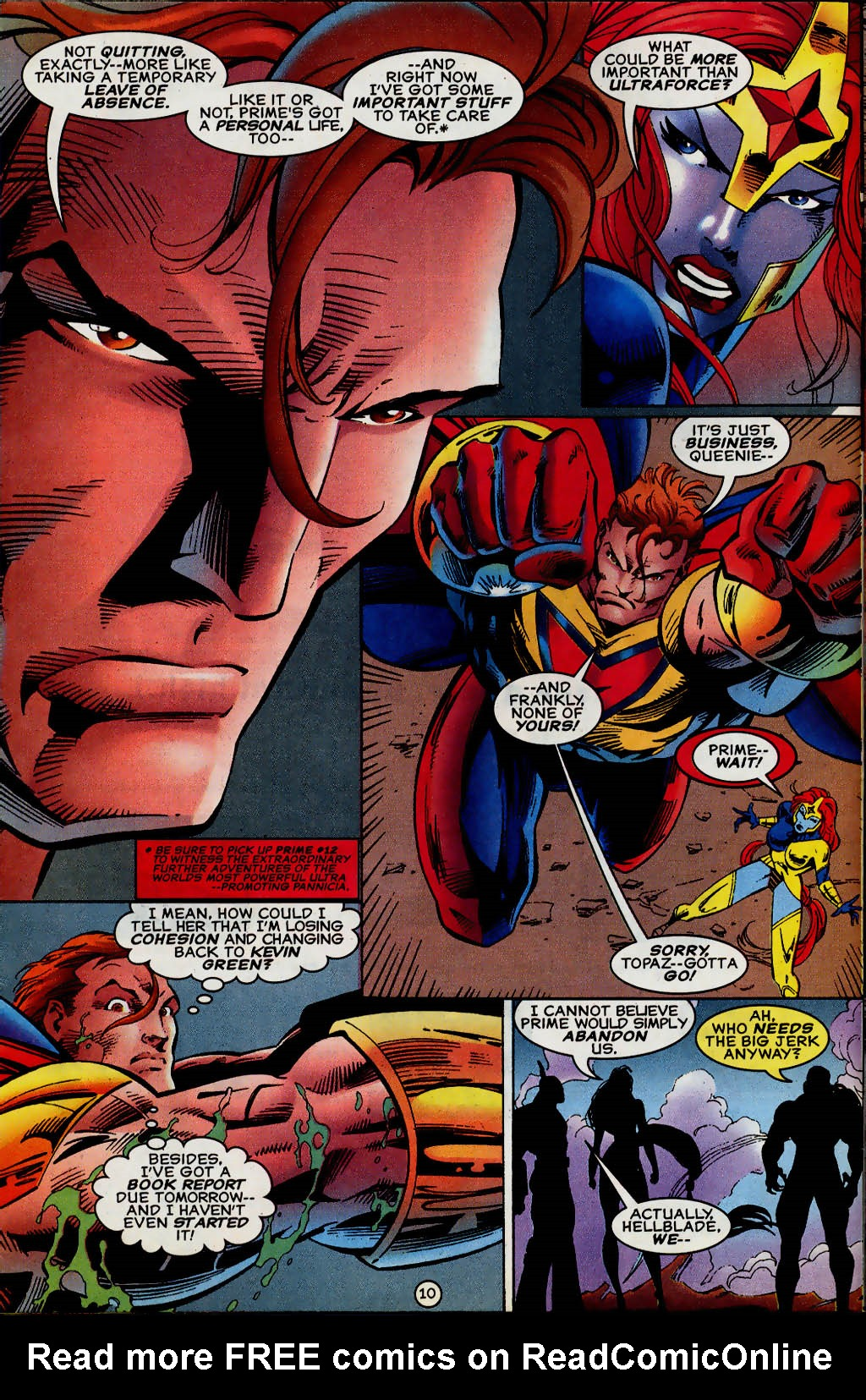 Read online UltraForce (1995) comic -  Issue #13 - 11