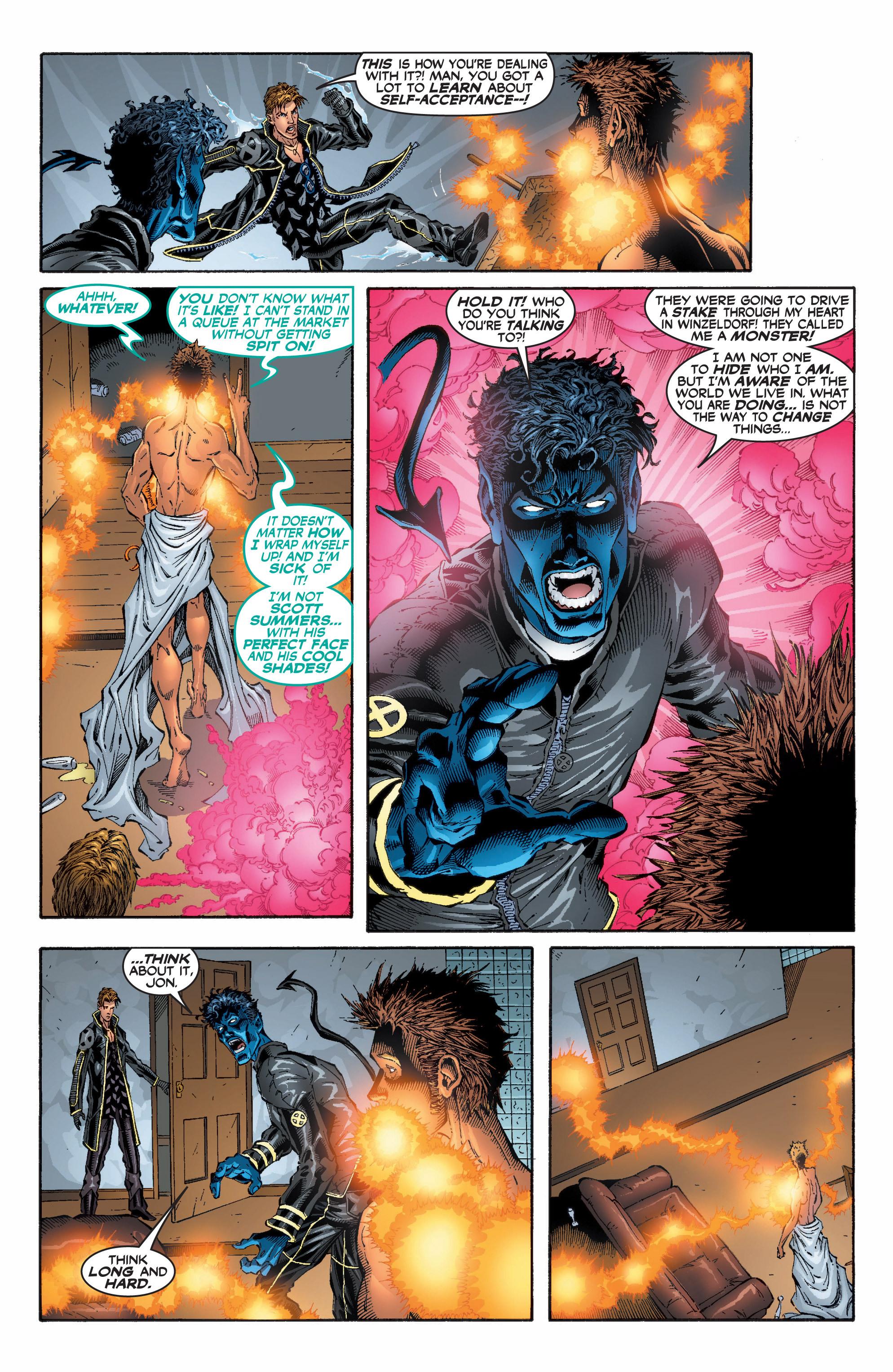 Read online Uncanny X-Men (1963) comic -  Issue #396 - 11