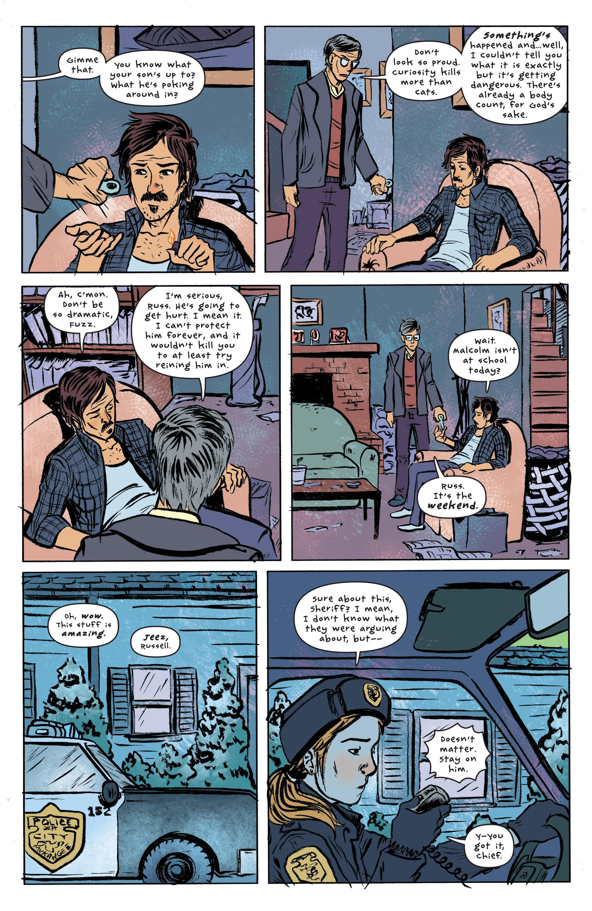 Read online UFOlogy comic -  Issue #2 - 19