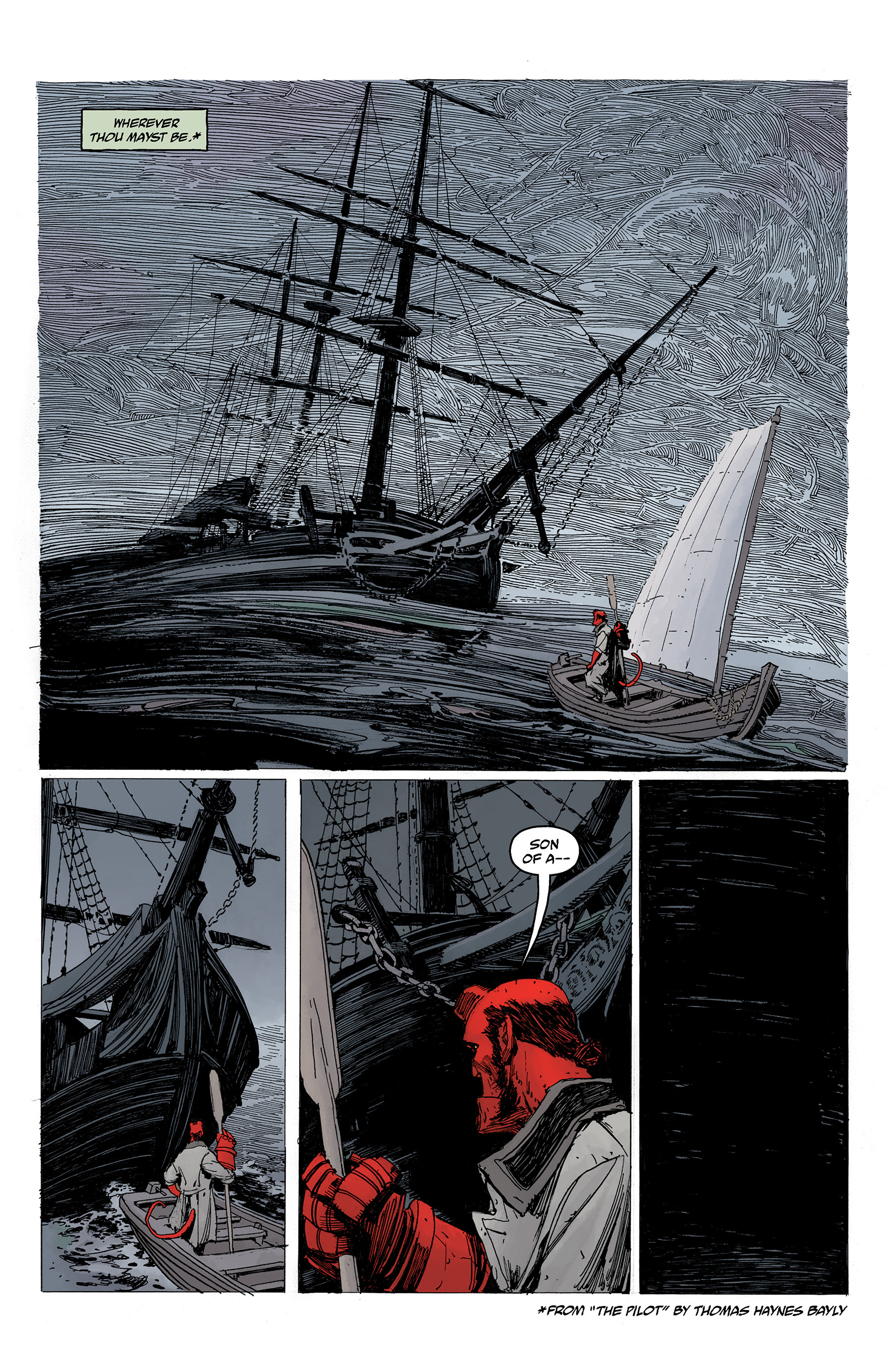 Read online Hellboy: Into the Silent Sea comic -  Issue # Full - 12