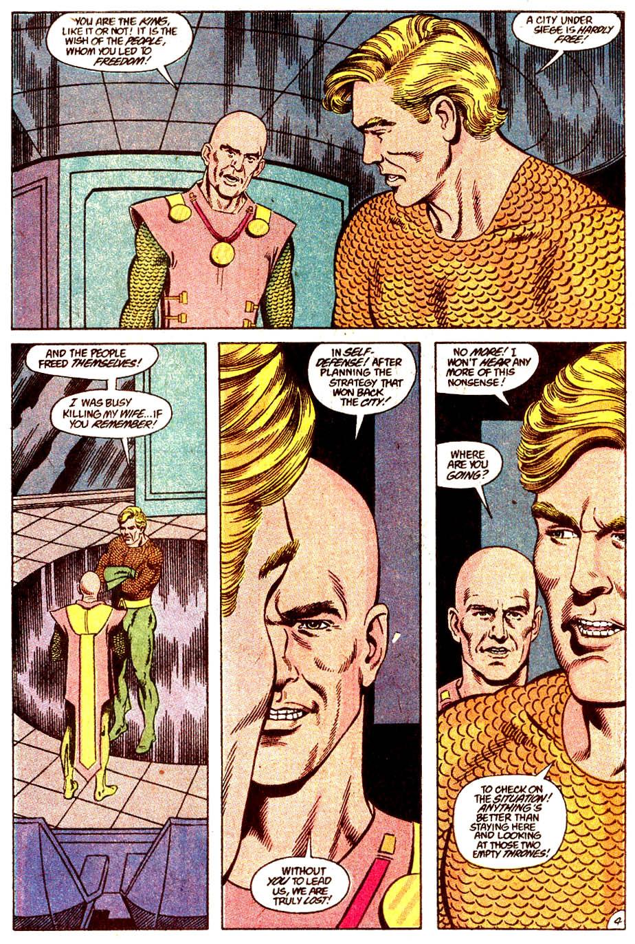 Read online Aquaman (1989) comic -  Issue #4 - 5