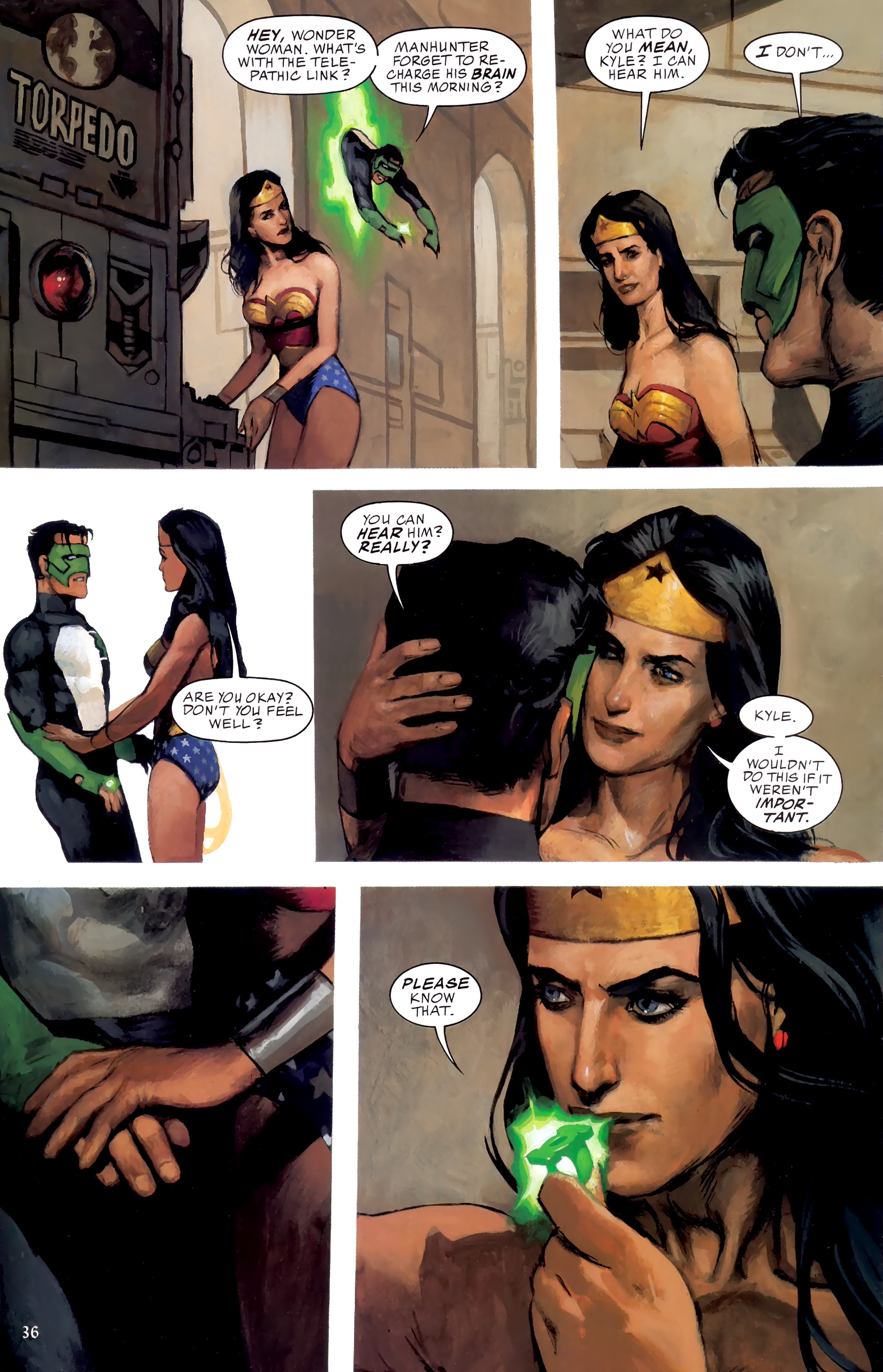 Read online JLA: A League of One comic -  Issue # Full - 43
