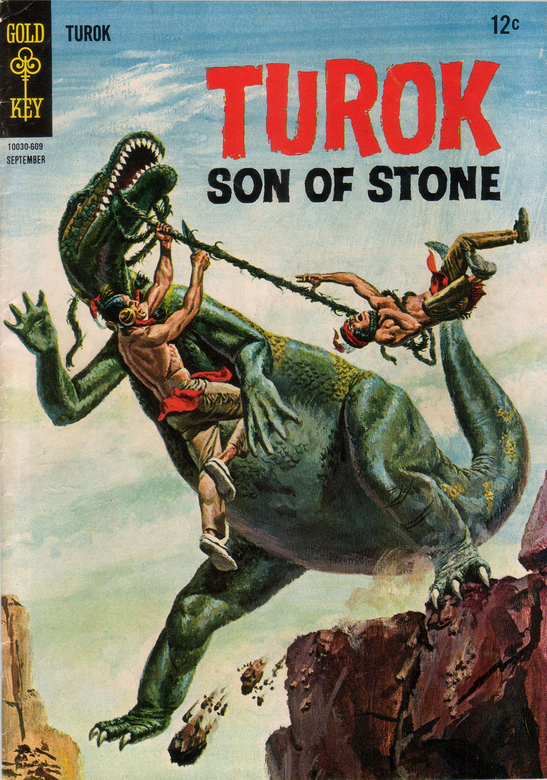 Read online Turok, Son of Stone comic -  Issue #53 - 1