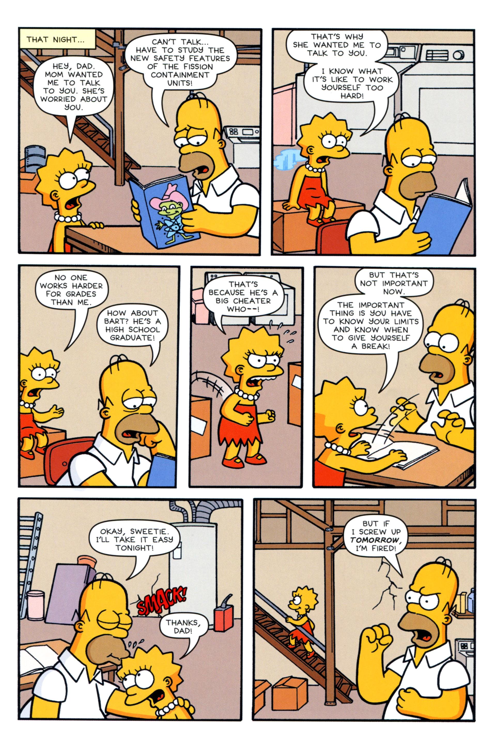 Read online Simpsons Comics comic -  Issue #202 - 21