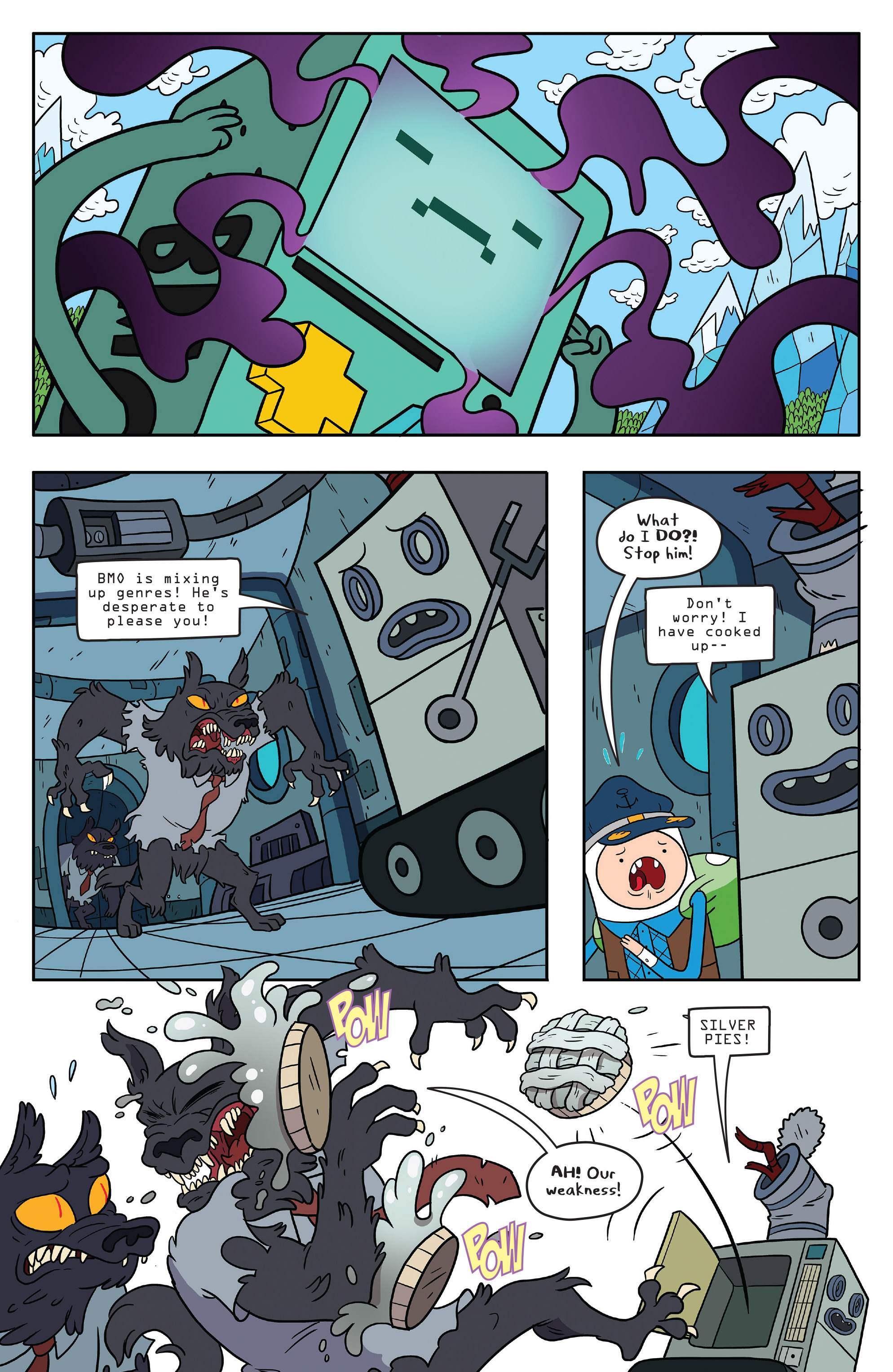 Read online Adventure Time comic -  Issue #56 - 16