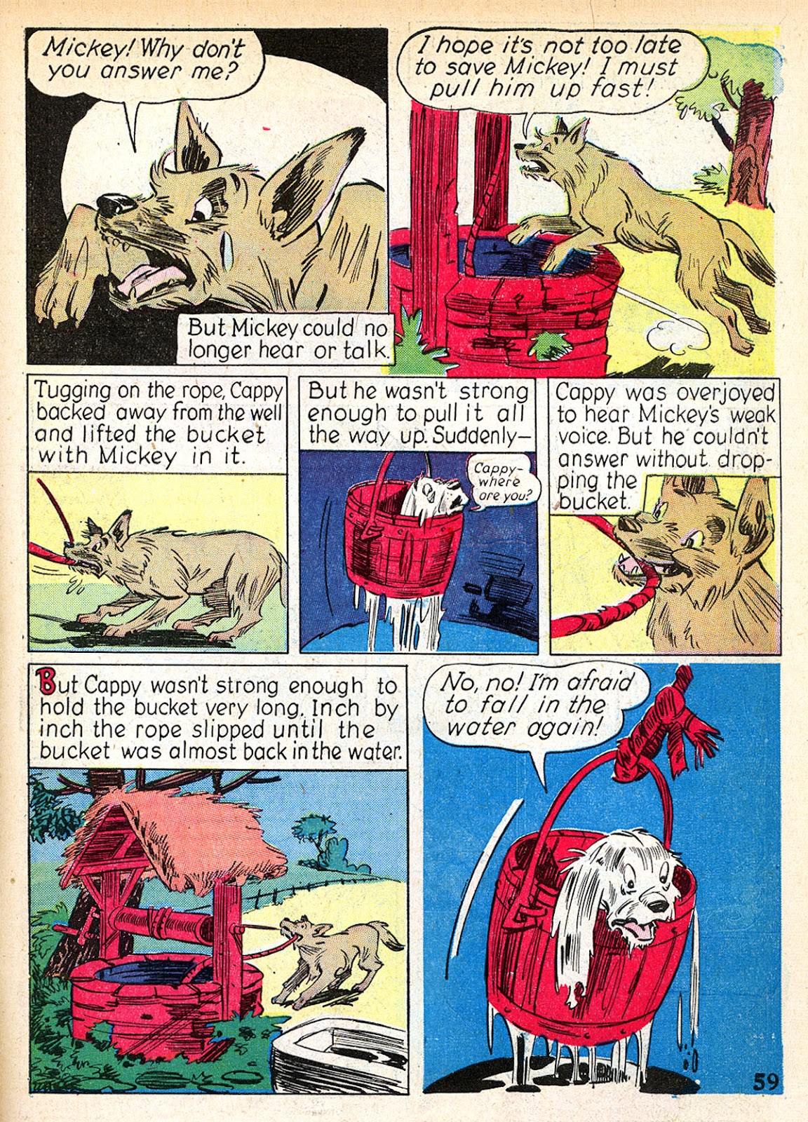 Read online Animal Comics comic -  Issue #2 - 61