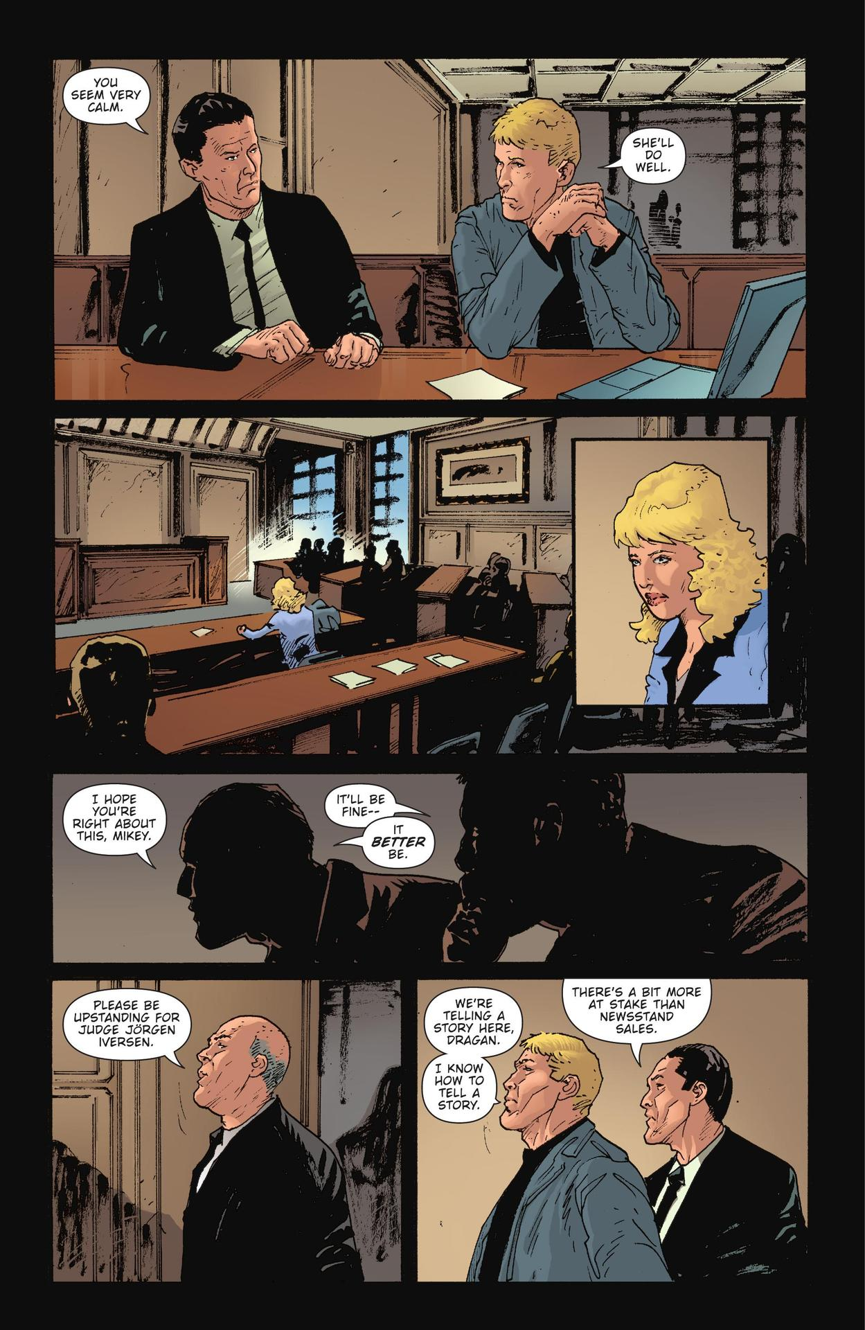 Read online The Girl Who Kicked The Hornet's Nest comic -  Issue # TPB - 210