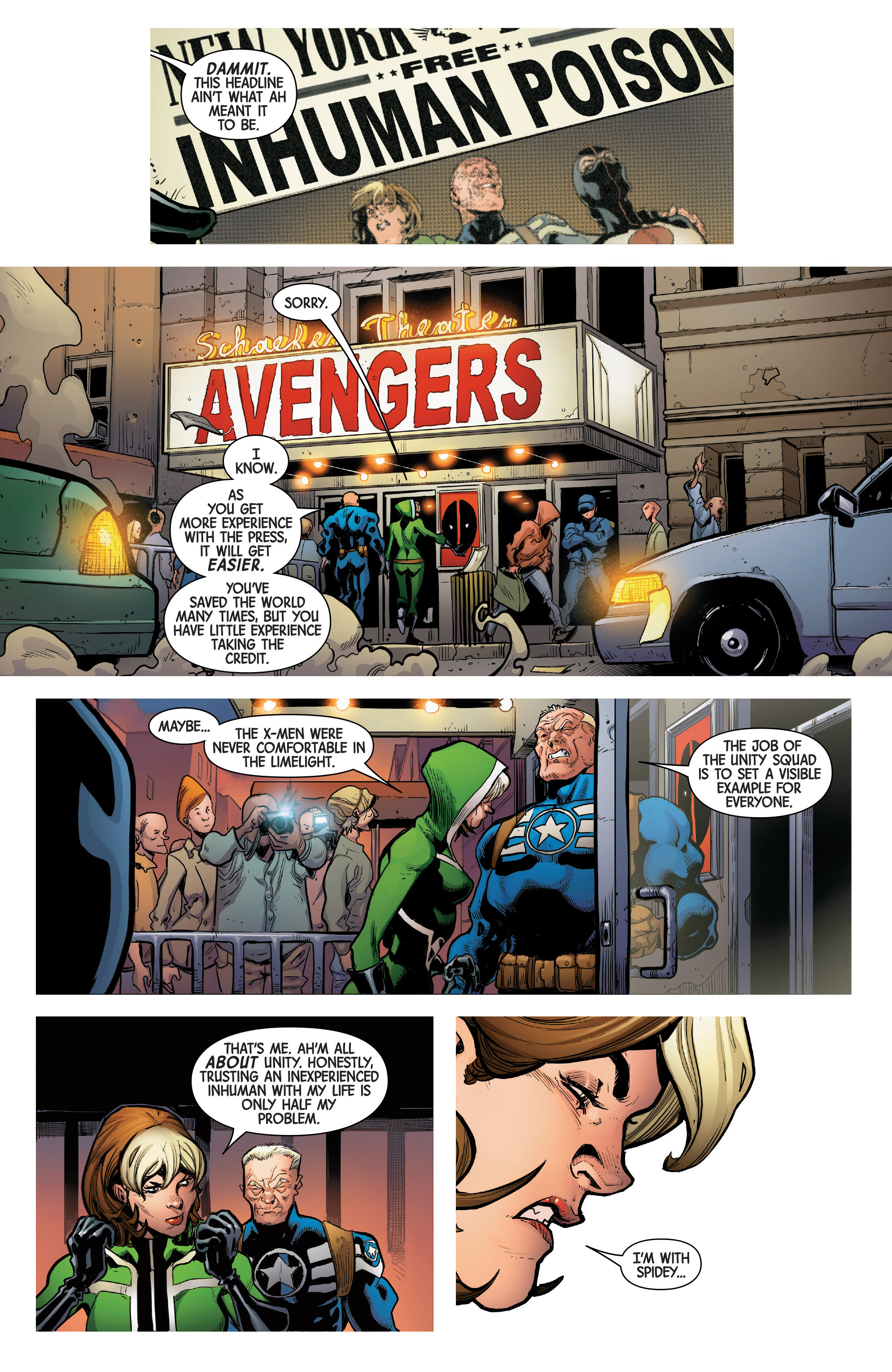 Read online Uncanny Avengers [II] comic -  Issue #1 - 18