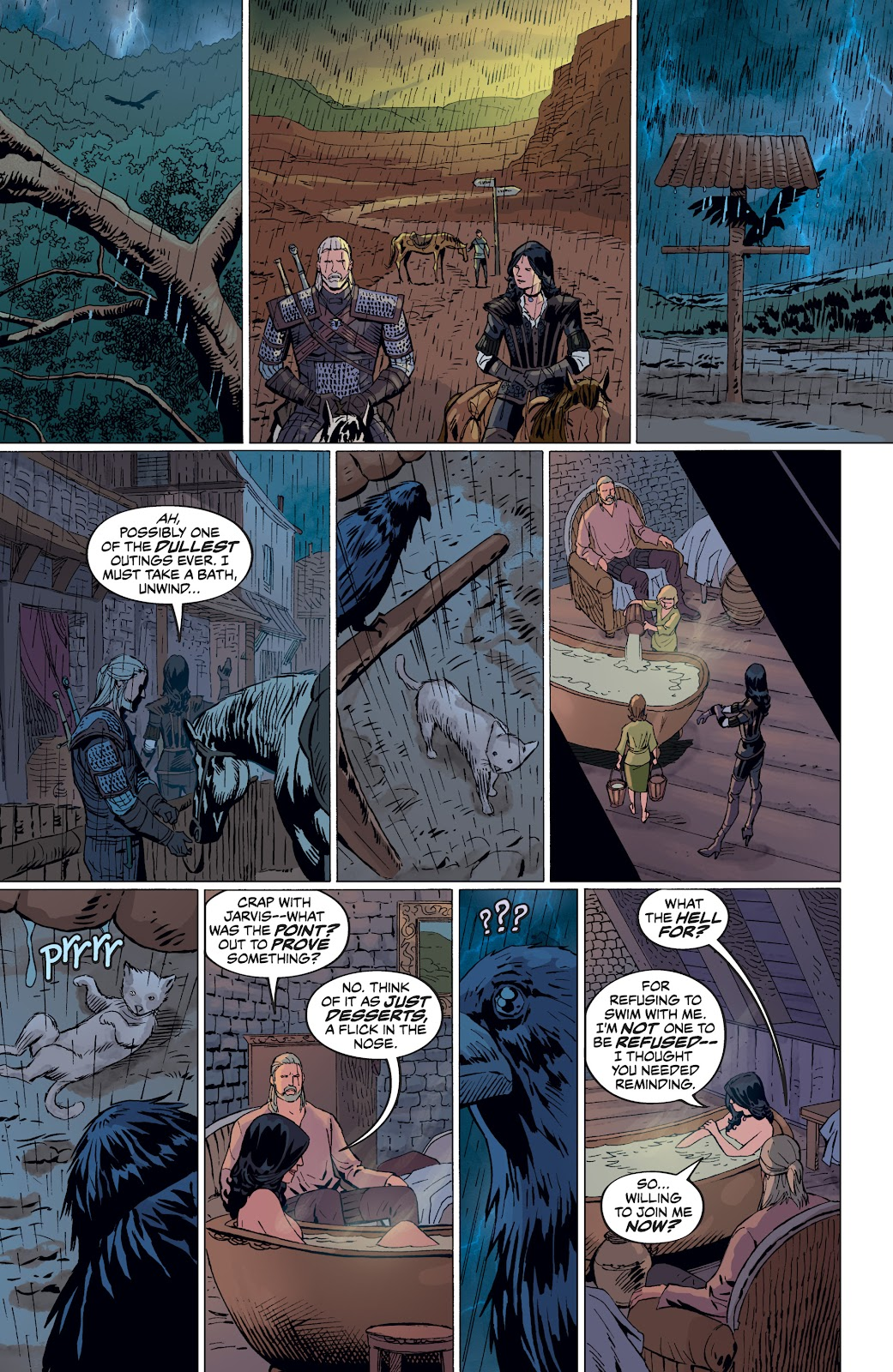 Read online The Witcher Omnibus comic -  Issue # TPB (Part 4) - 85