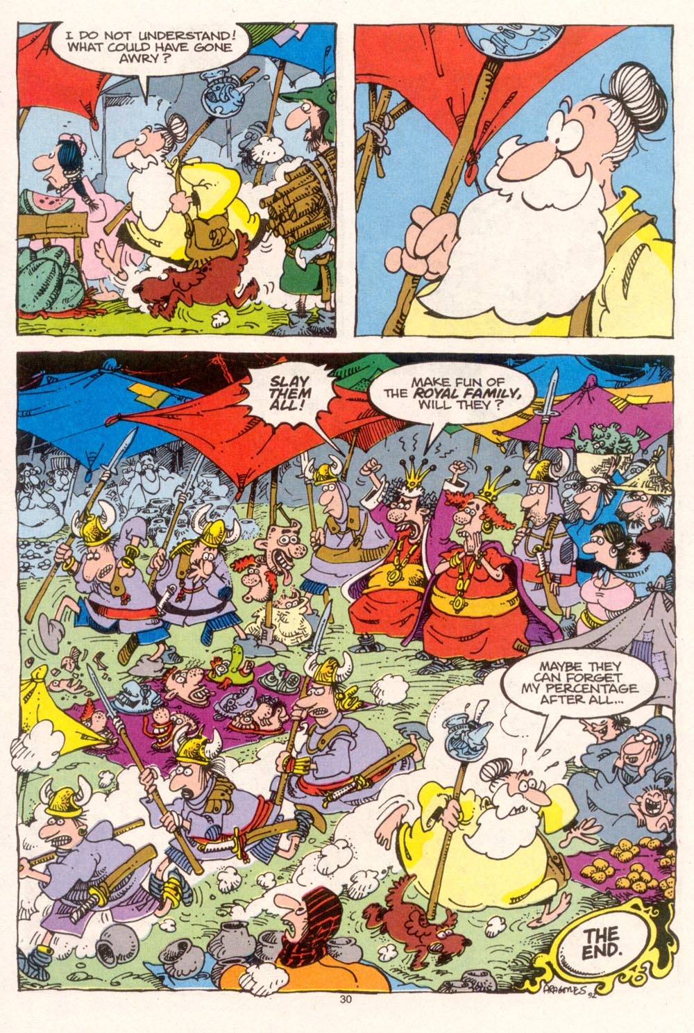 Read online Sergio Aragonés Groo the Wanderer comic -  Issue #95 - 31