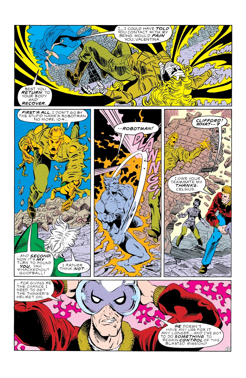 Doom Patrol and Suicide Squad Special issue Special 1 - Page 20