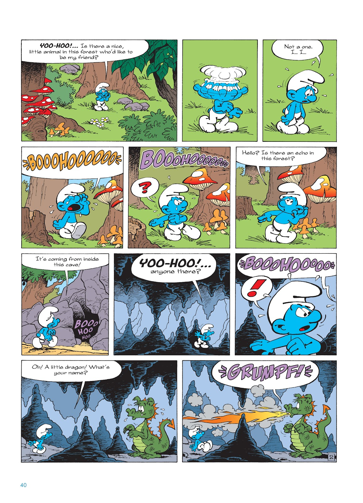 Read online The Smurfs comic -  Issue #16 - 41