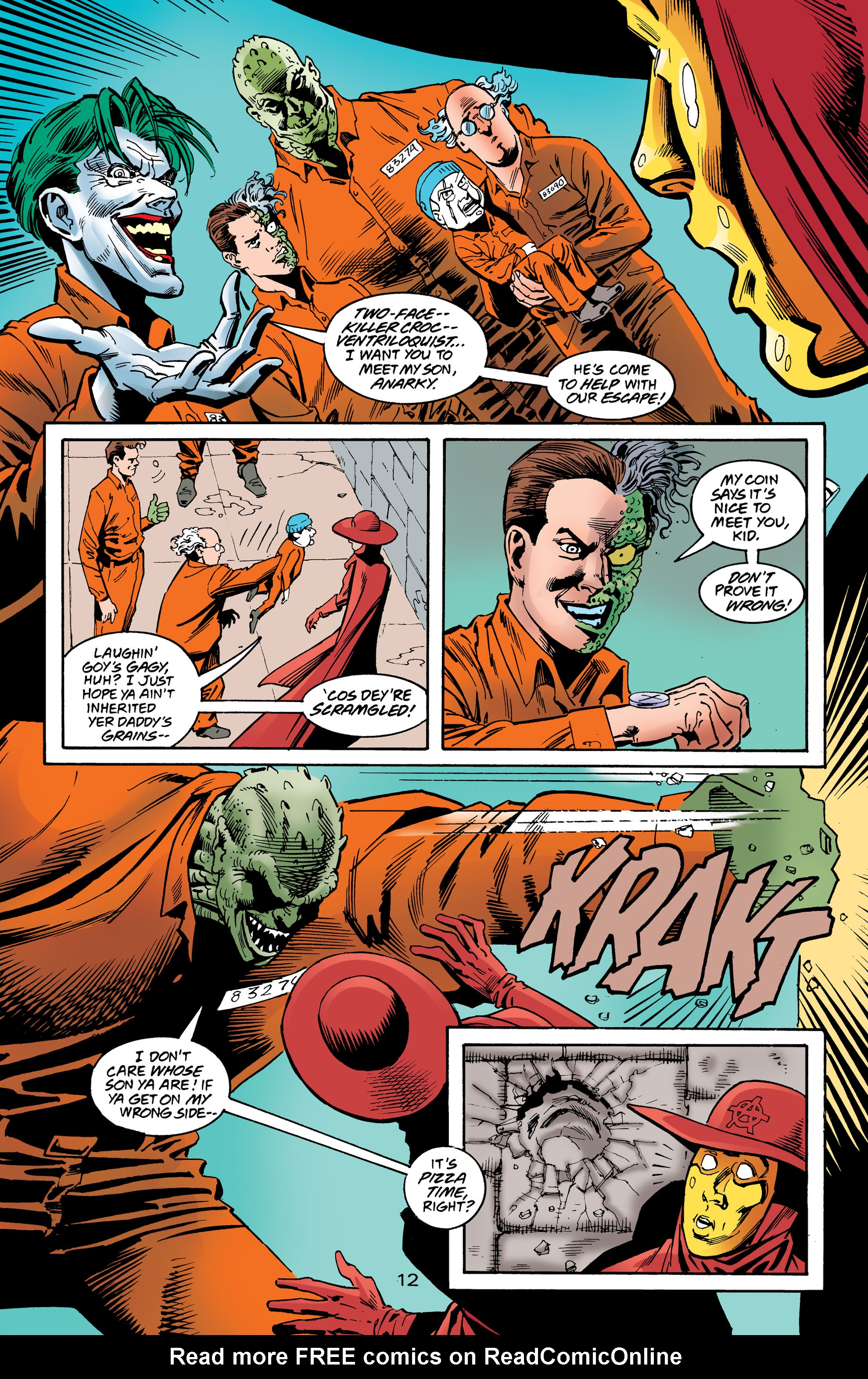 Read online Anarky (1999) comic -  Issue #8 - 13