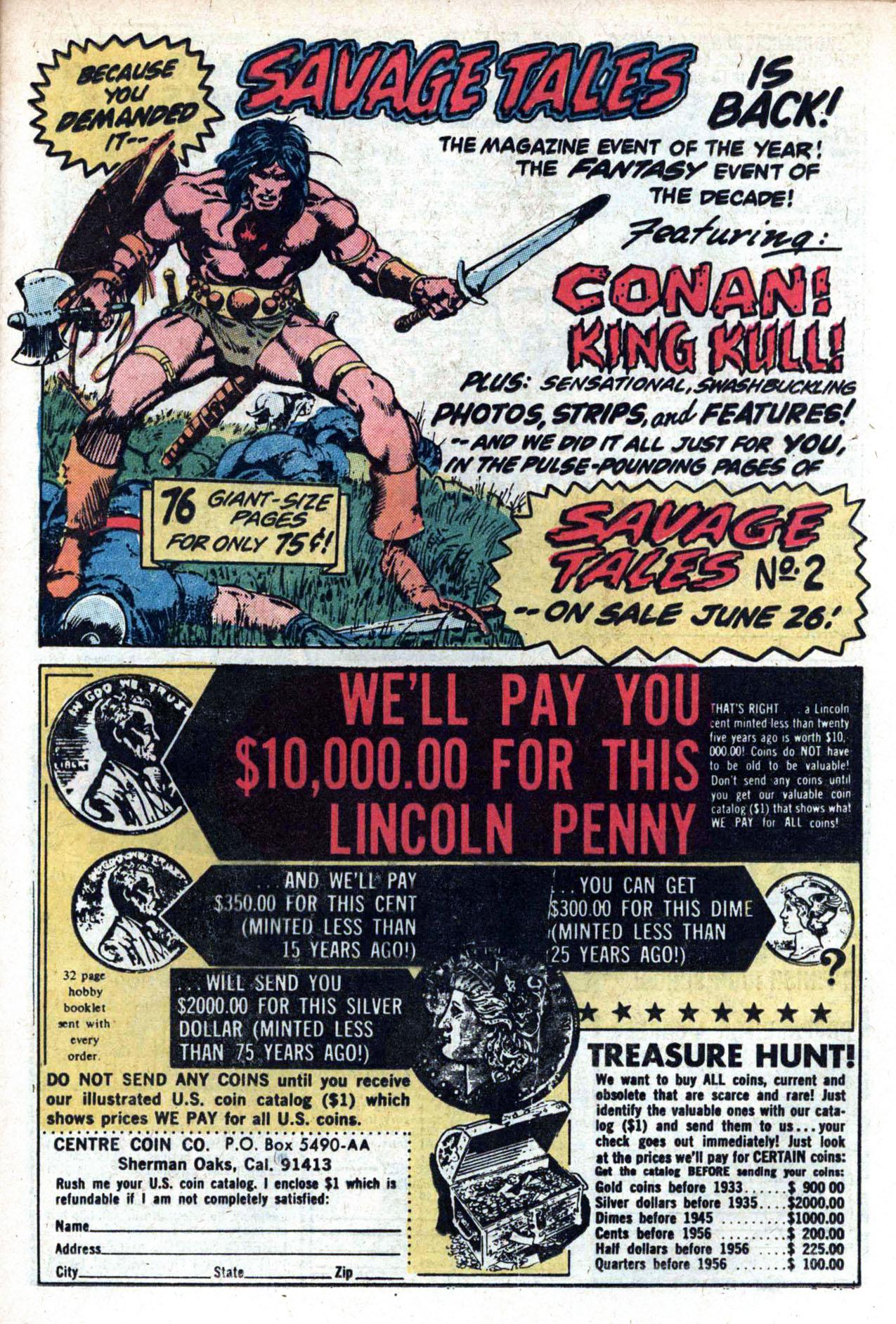Read online Amazing Adventures (1970) comic -  Issue #20 - 21