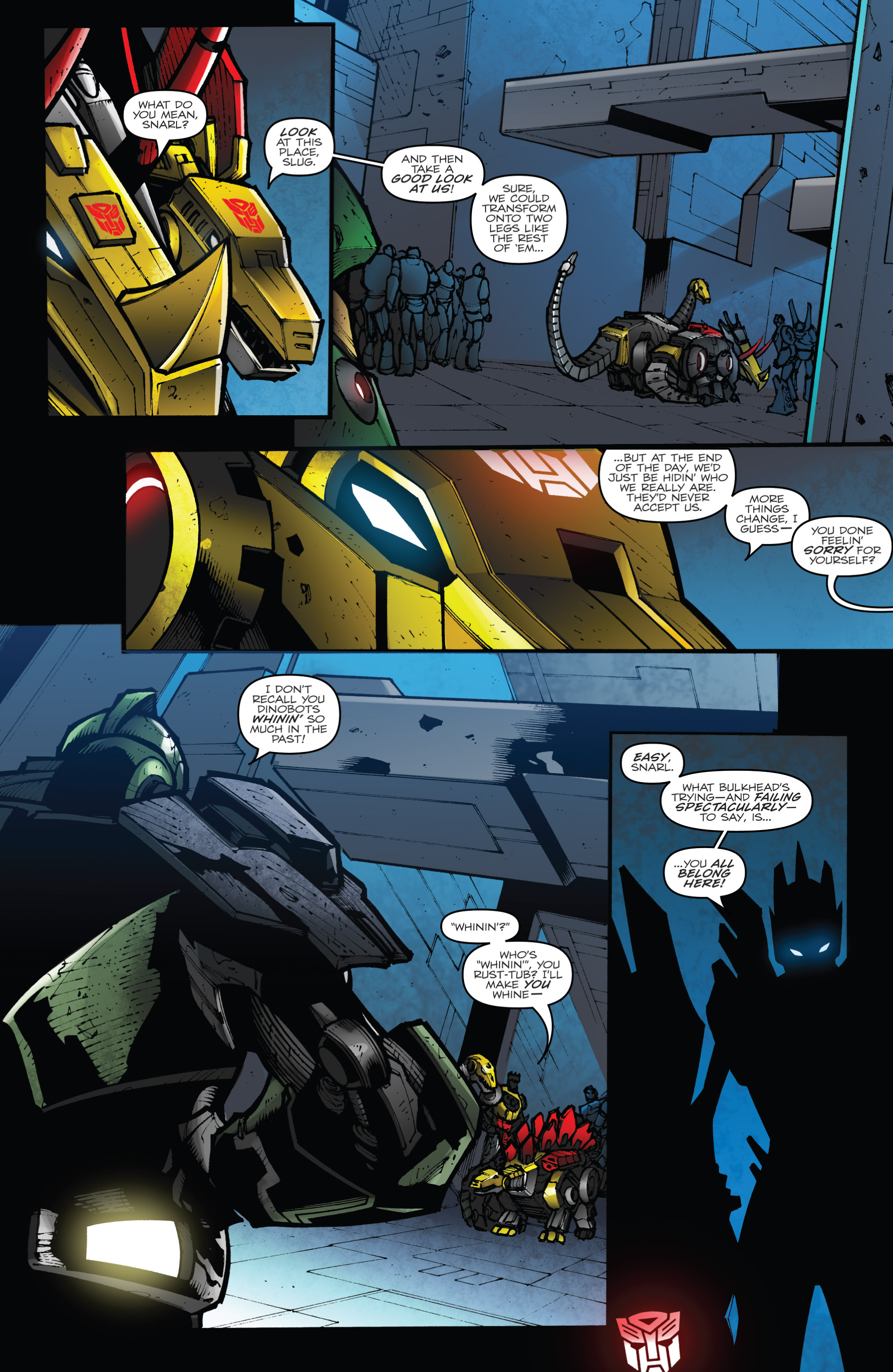 Read online Transformers Prime: Beast Hunters comic -  Issue #8 - 20