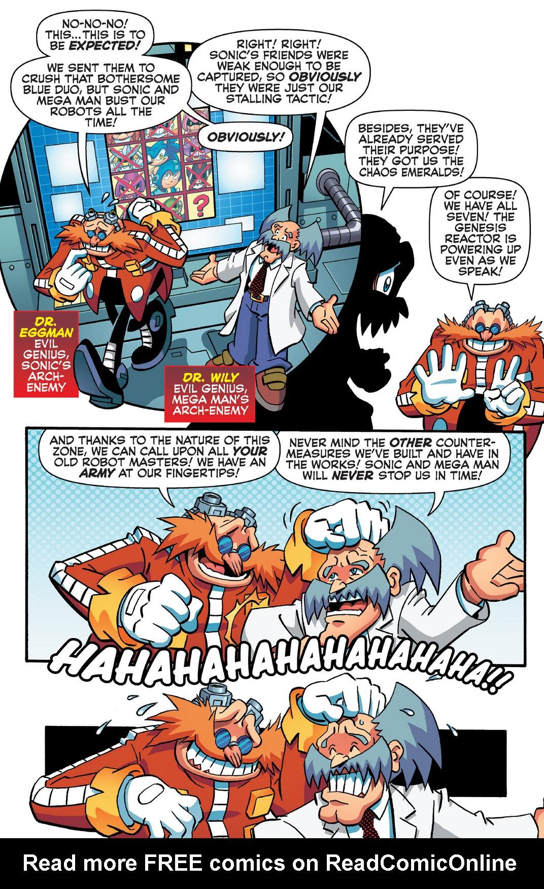 Read online Sonic Mega Man Worlds Collide comic -  Issue # Vol 2 - 86