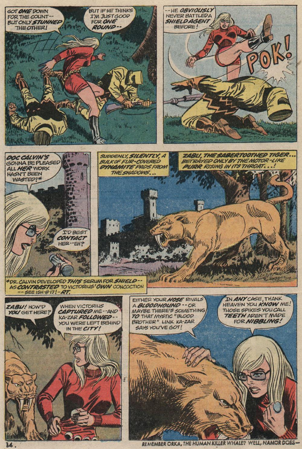 Read online Astonishing Tales (1970) comic -  Issue #20 - 11