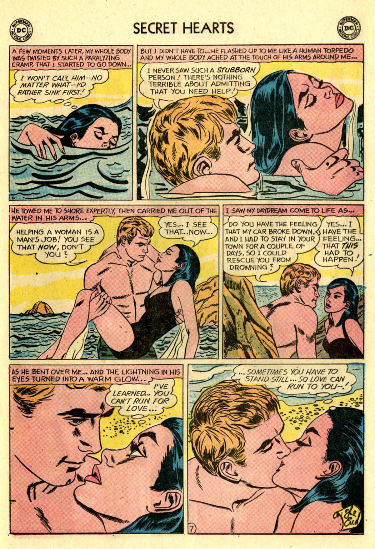 Read online Secret Hearts comic -  Issue #83 - 9
