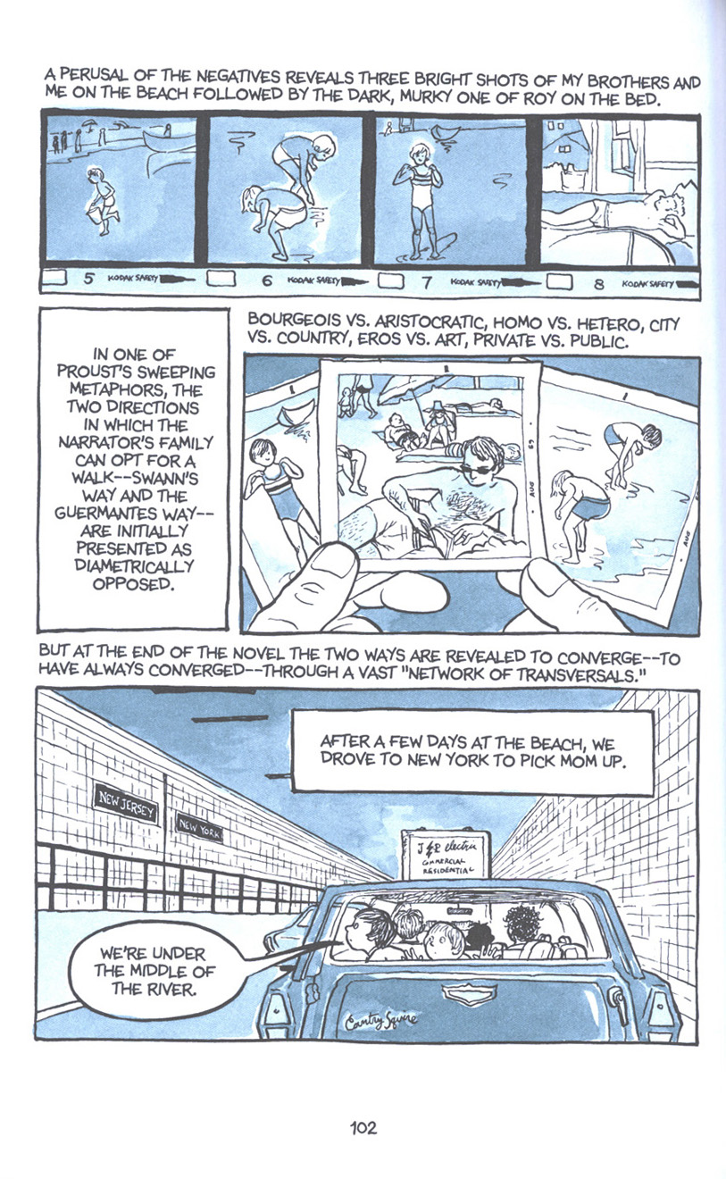 Read online Fun Home: A Family Tragicomic comic -  Issue # TPB - 108