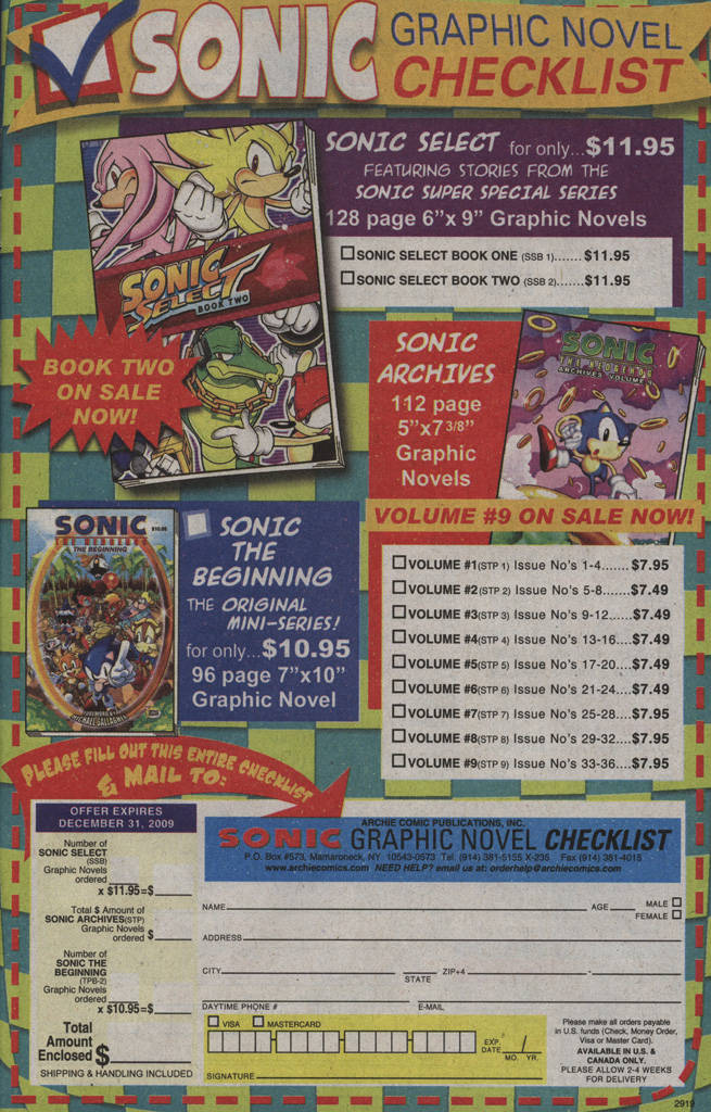 Read online Sonic X comic -  Issue #39 - 27