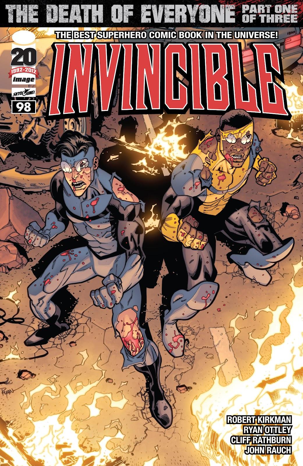 Invincible (2003) 98 Page 1