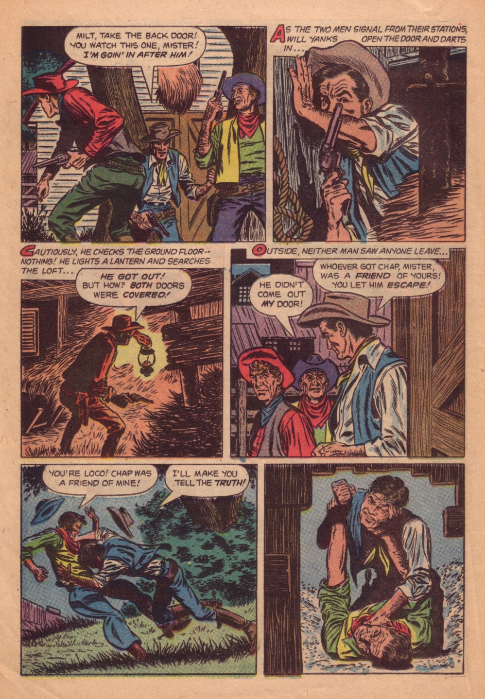 Four Color Comics issue 580 - Page 16