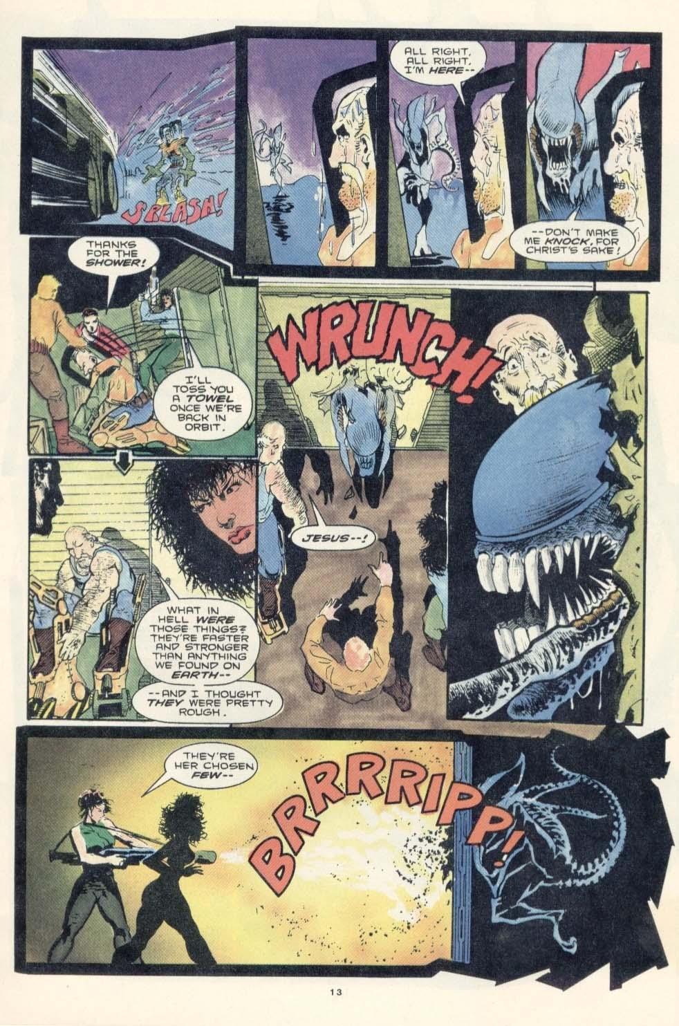 Read online Aliens: Earth War comic -  Issue #3 - 15