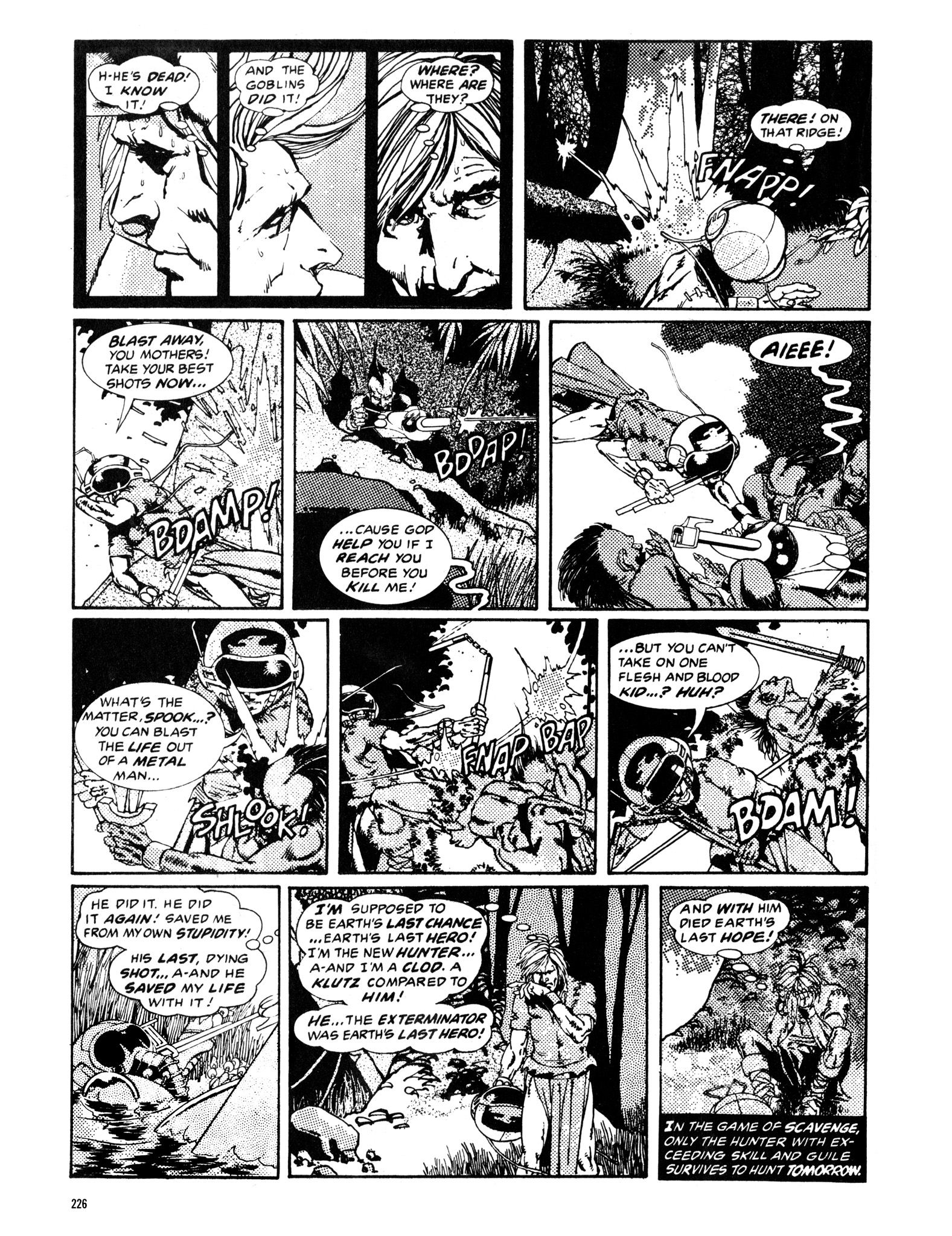 Read online Eerie Archives comic -  Issue # TPB 14 - 227
