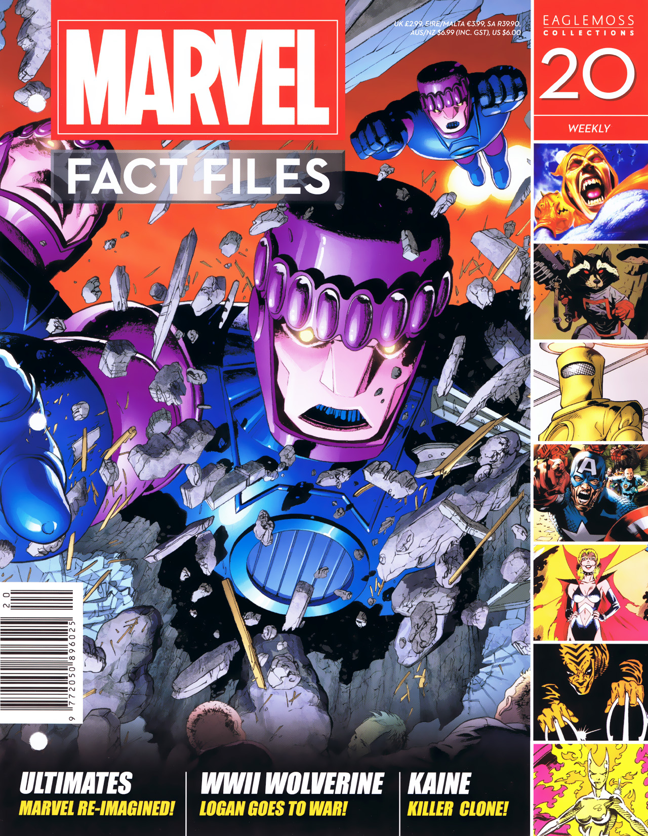 Marvel Fact Files 20 Page 1
