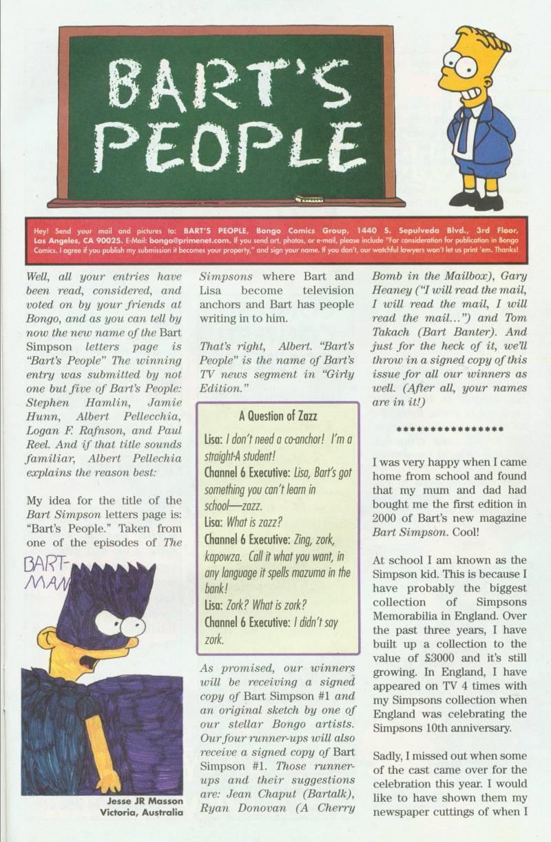 Read online Simpsons Comics Presents Bart Simpson comic -  Issue #3 - 33