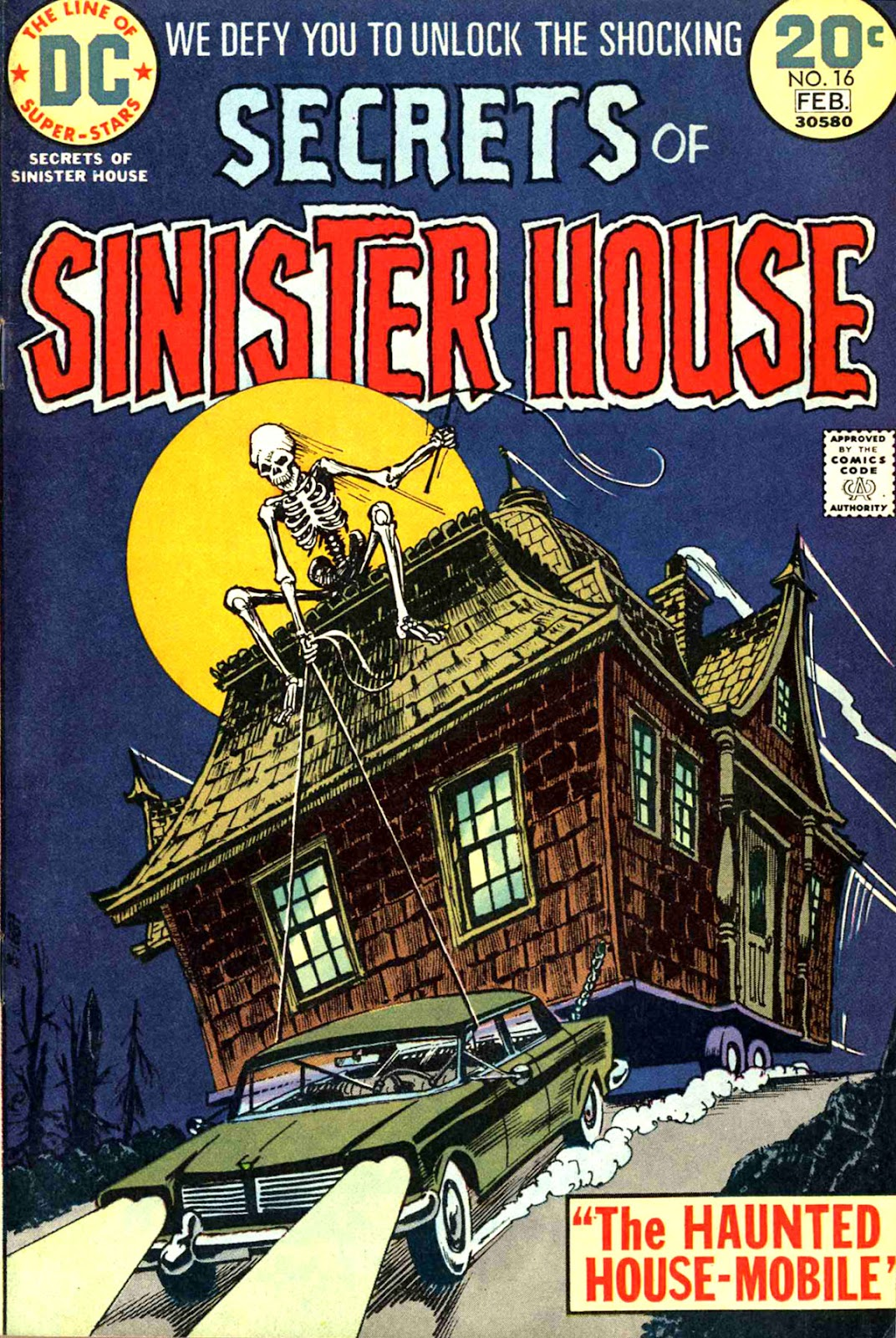 Secrets of Sinister House (1972) 16 Page 1
