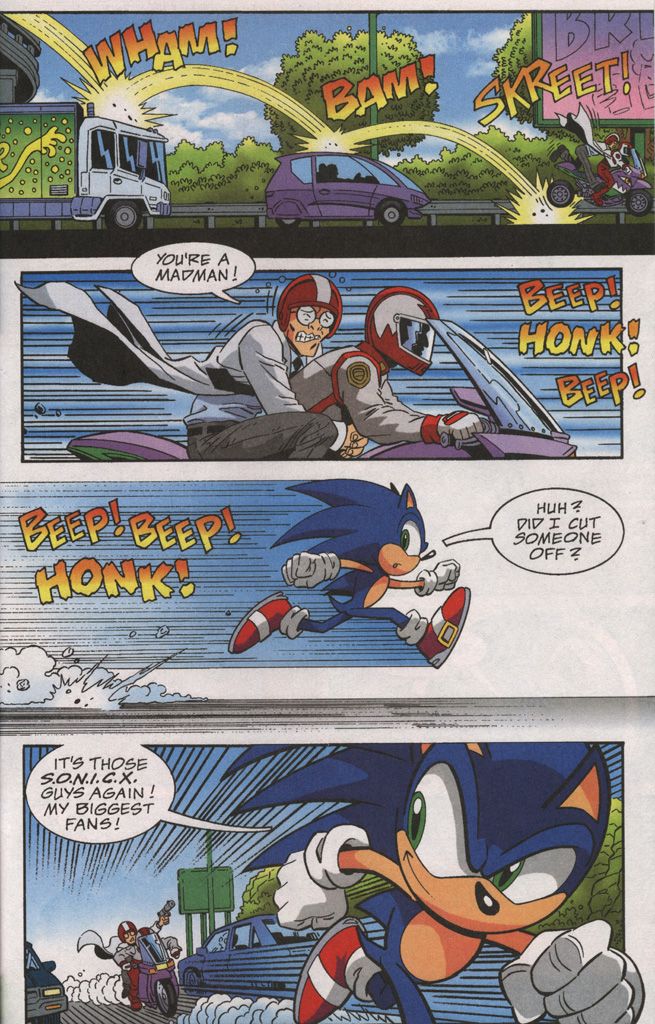 Read online Sonic X comic -  Issue #38 - 17