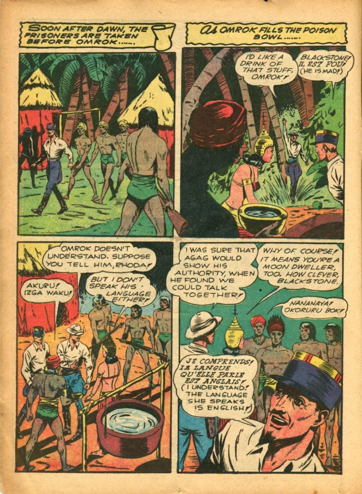 Read online Super-Magician Comics comic -  Issue #5 - 22