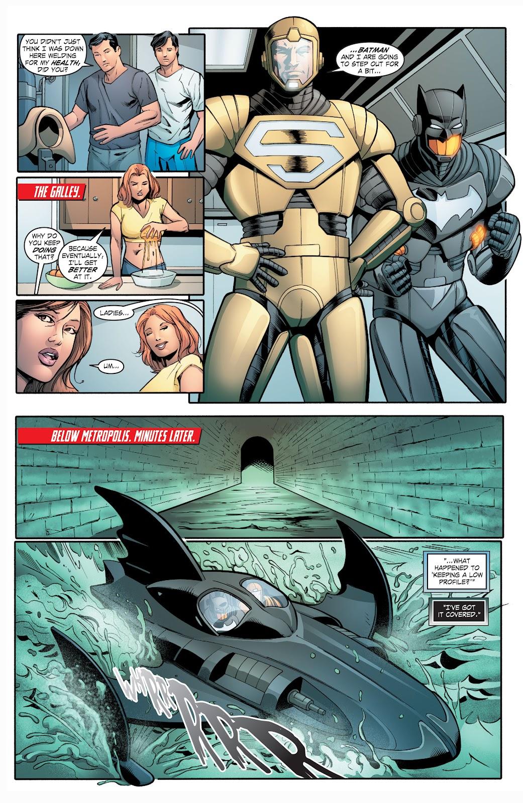 Read online Smallville Season 11 [II] comic -  Issue # TPB 2 - 109