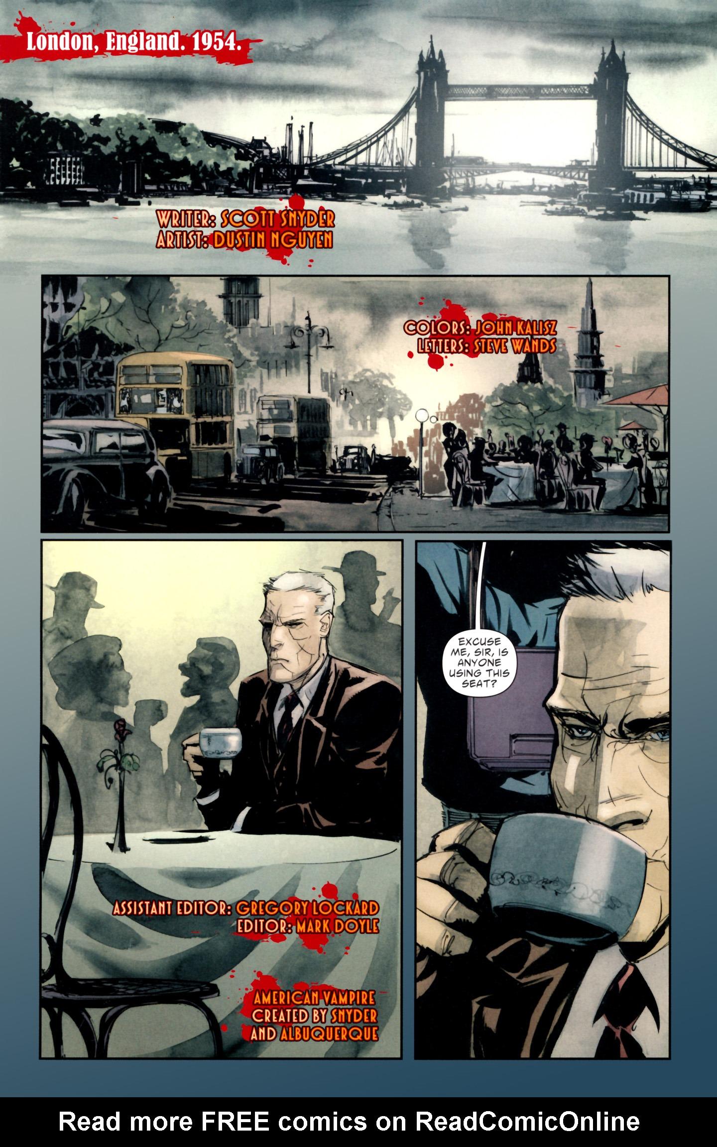 Read online American Vampire: Lord of Nightmares comic -  Issue #1 - 3