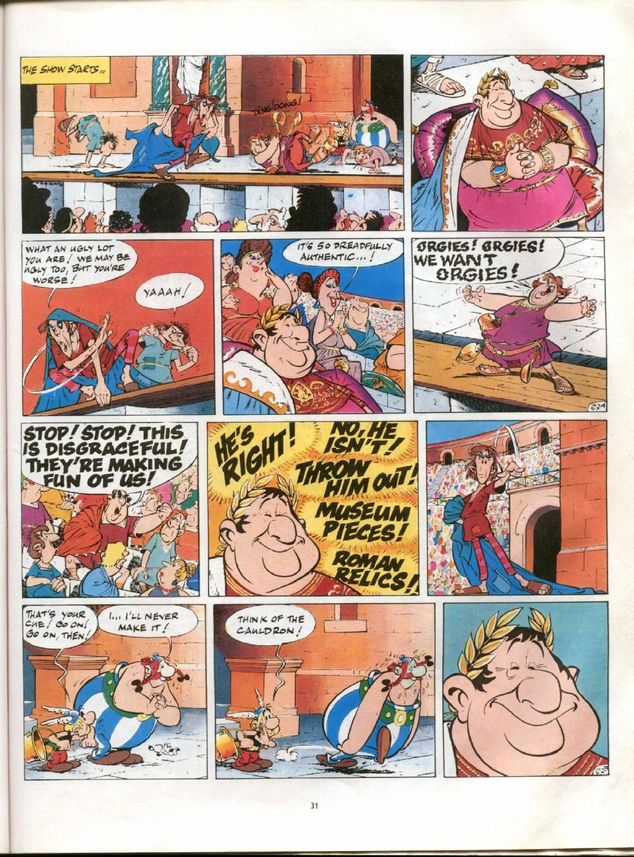 Read online Asterix comic -  Issue #13 - 28