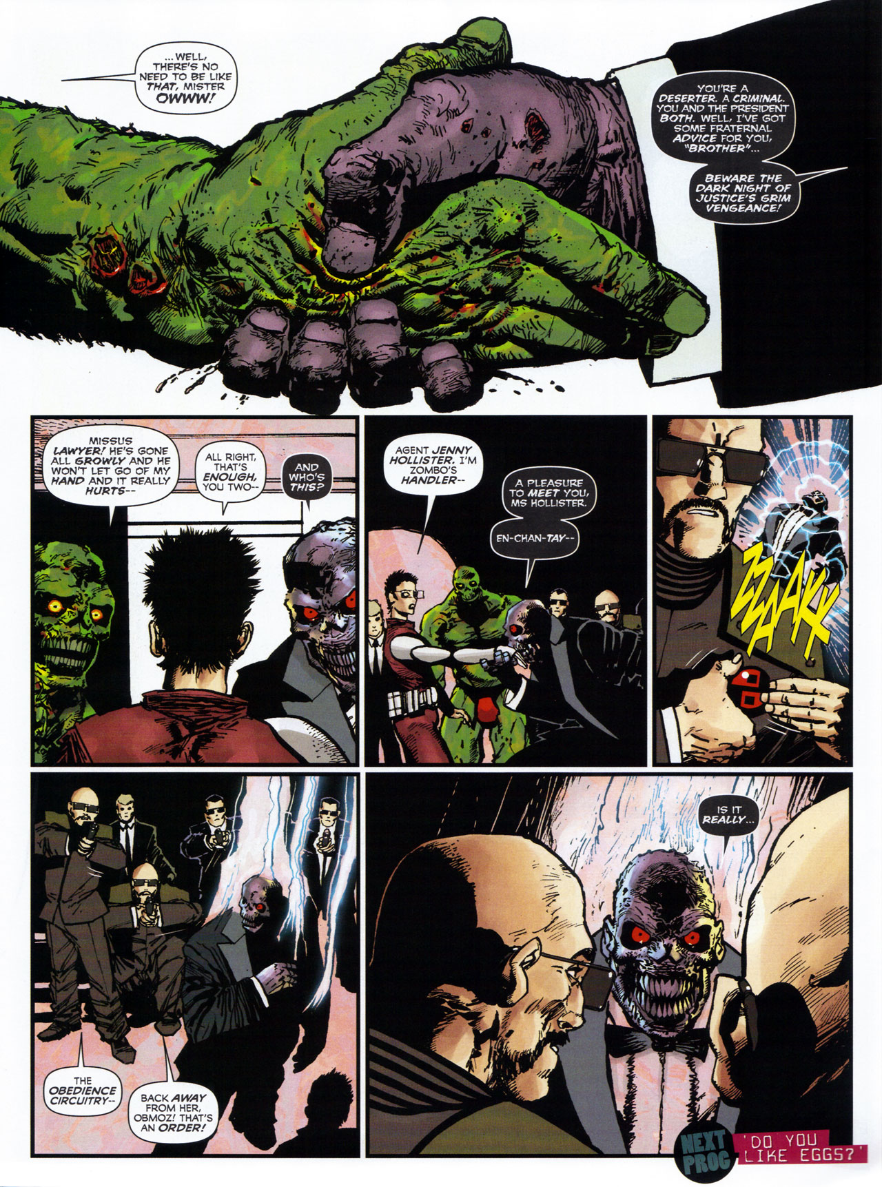 Read online 2000 AD comic -  Issue #1746 - 105