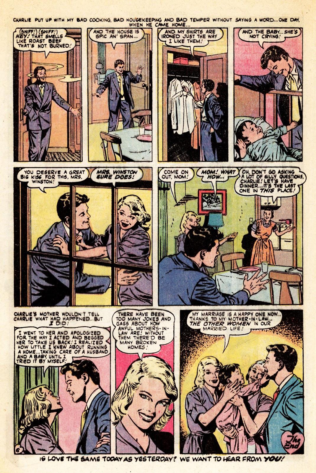 Love Romances (1949) issue 34 - Page 7
